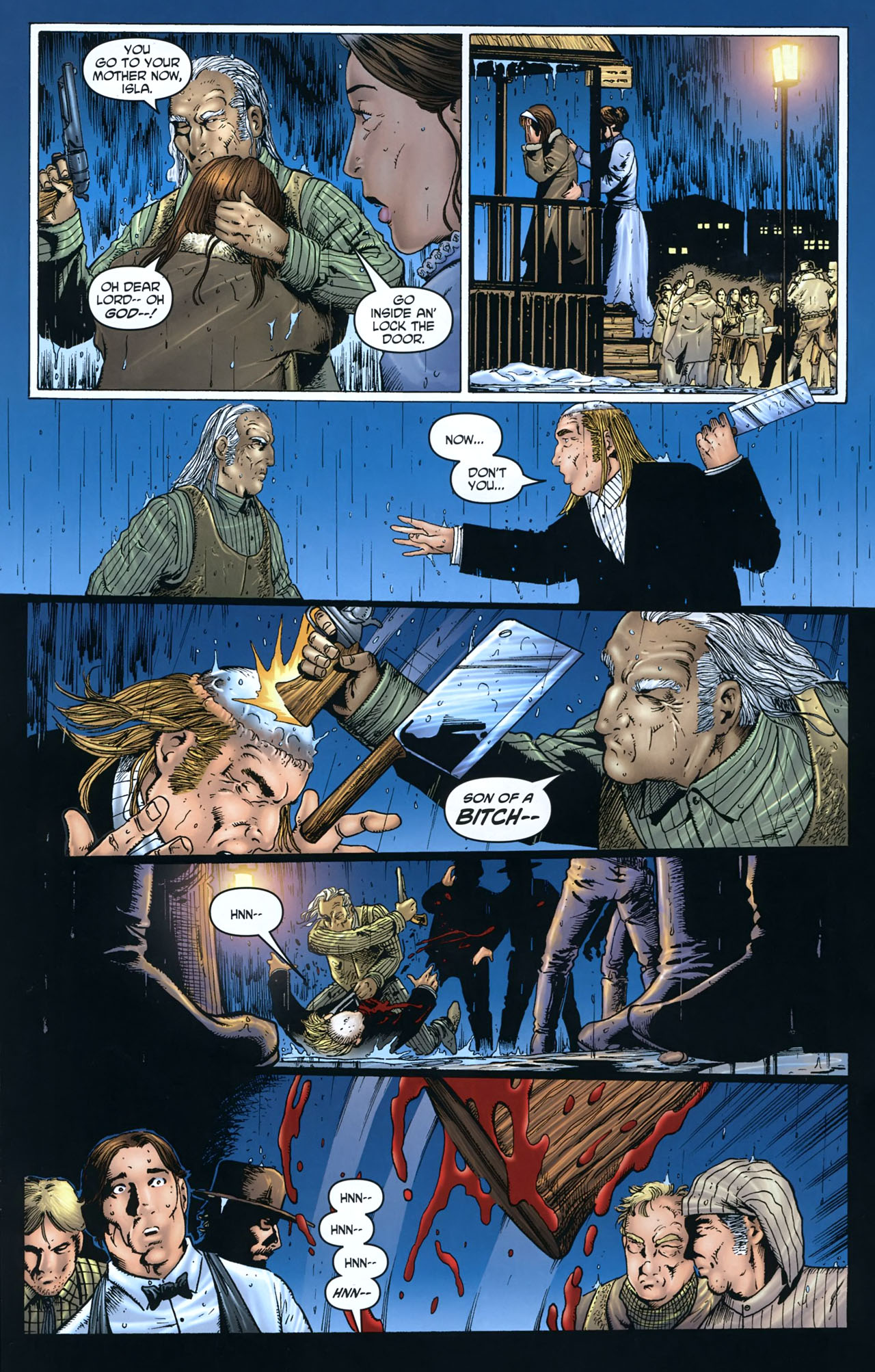 Read online Garth Ennis' Streets of Glory comic -  Issue #5 - 20
