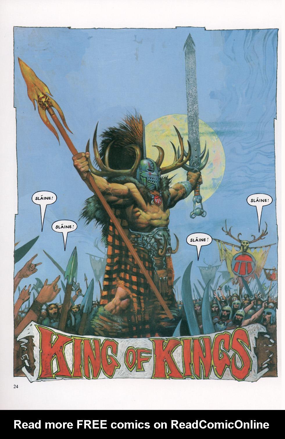 Read online Slaine: The Horned God (1993) comic -  Issue #4 - 25