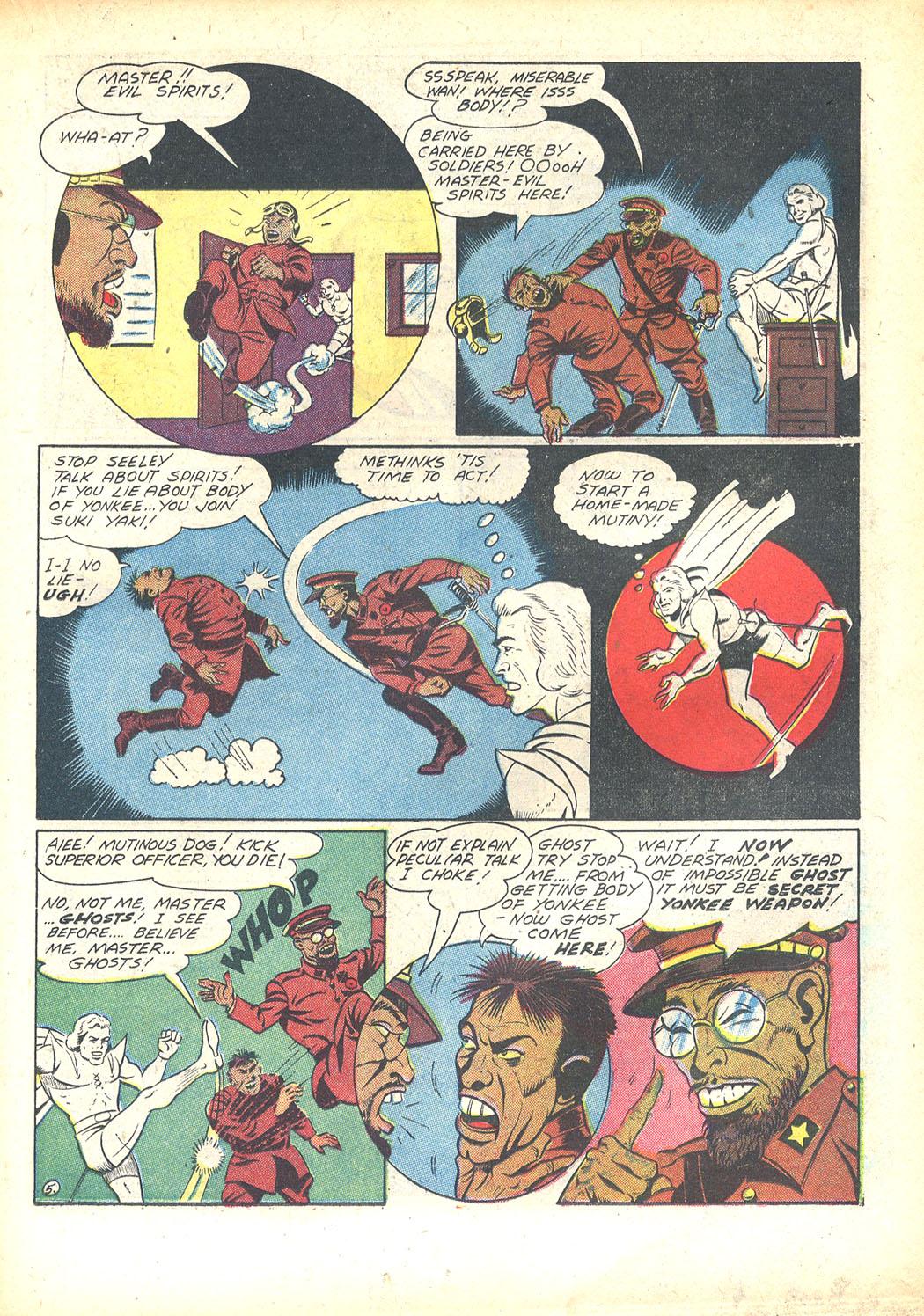 Read online Sensation (Mystery) Comics comic -  Issue #23 - 35