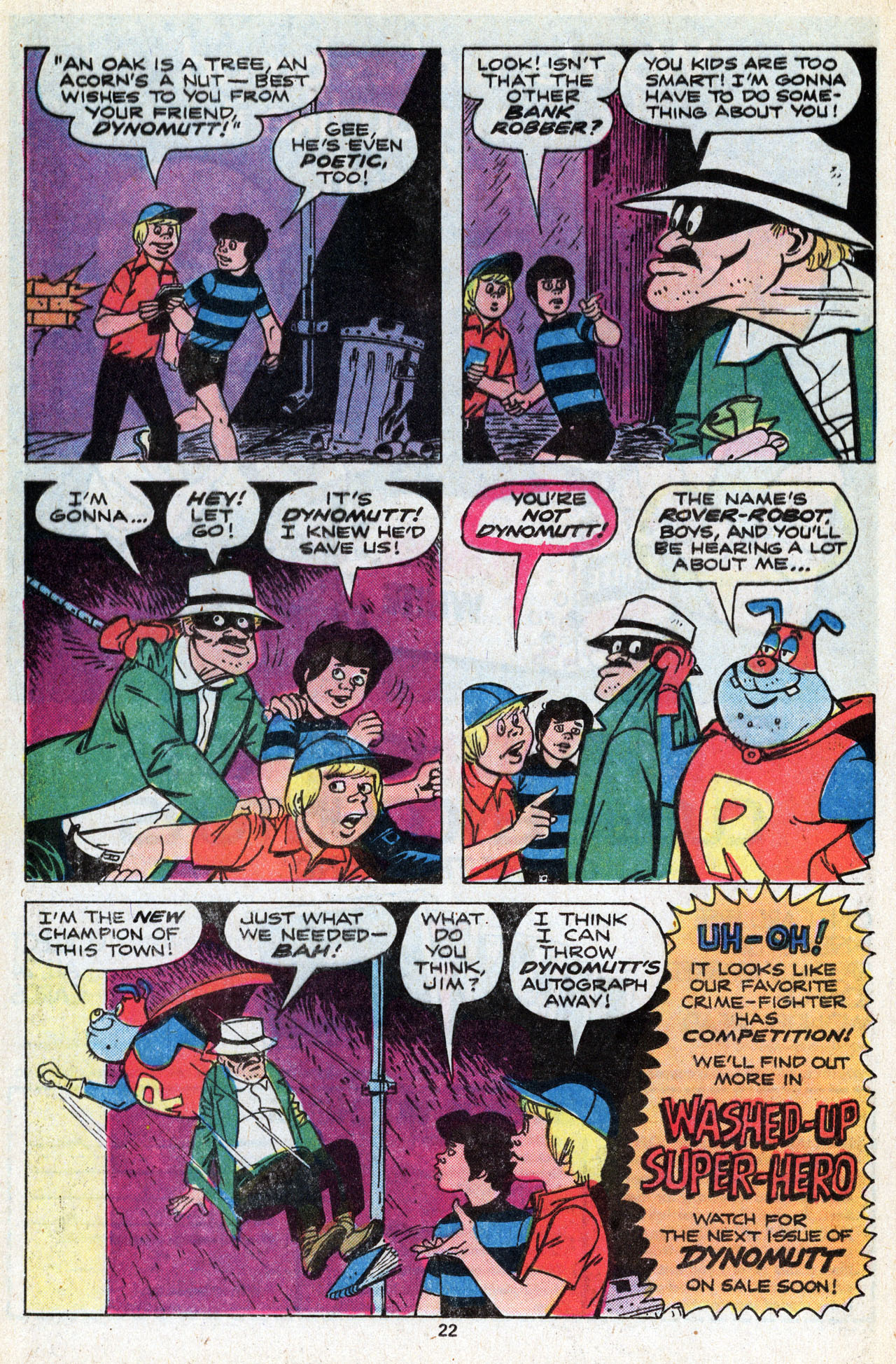 Read online Scooby-Doo (1977) comic -  Issue #5 - 24