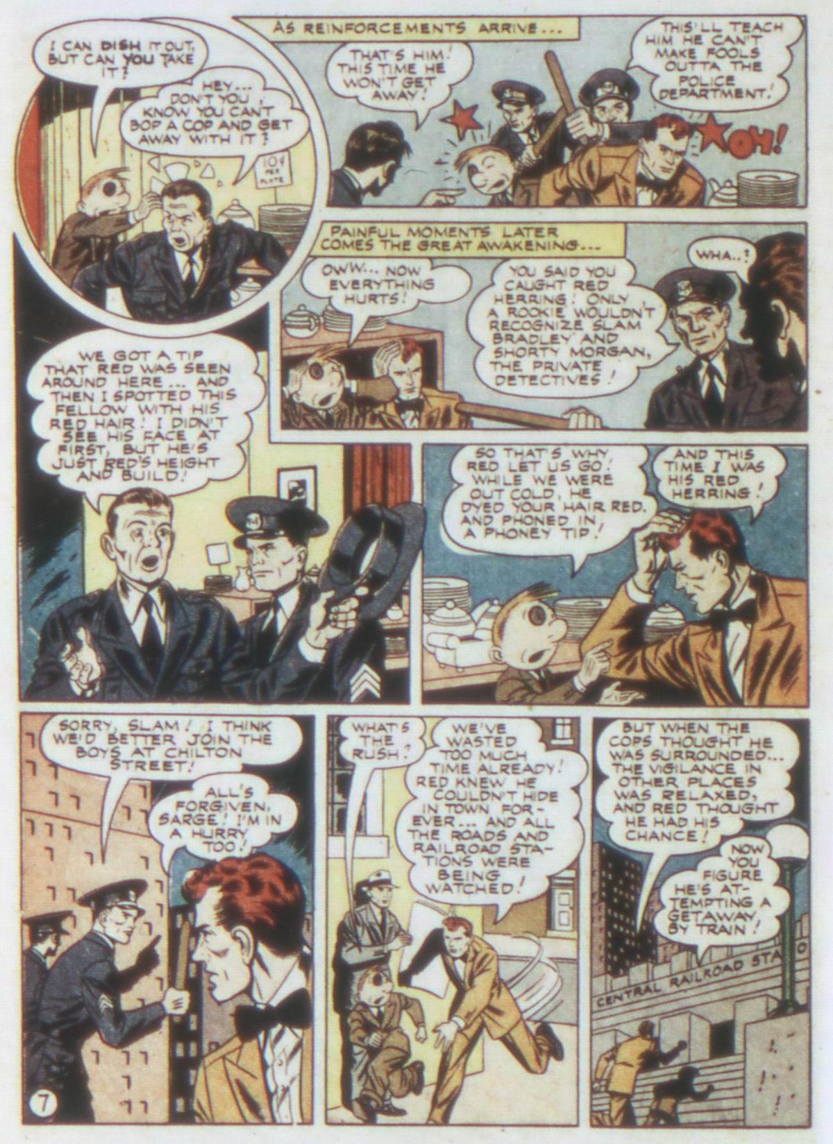 Read online Detective Comics (1937) comic -  Issue #77 - 22