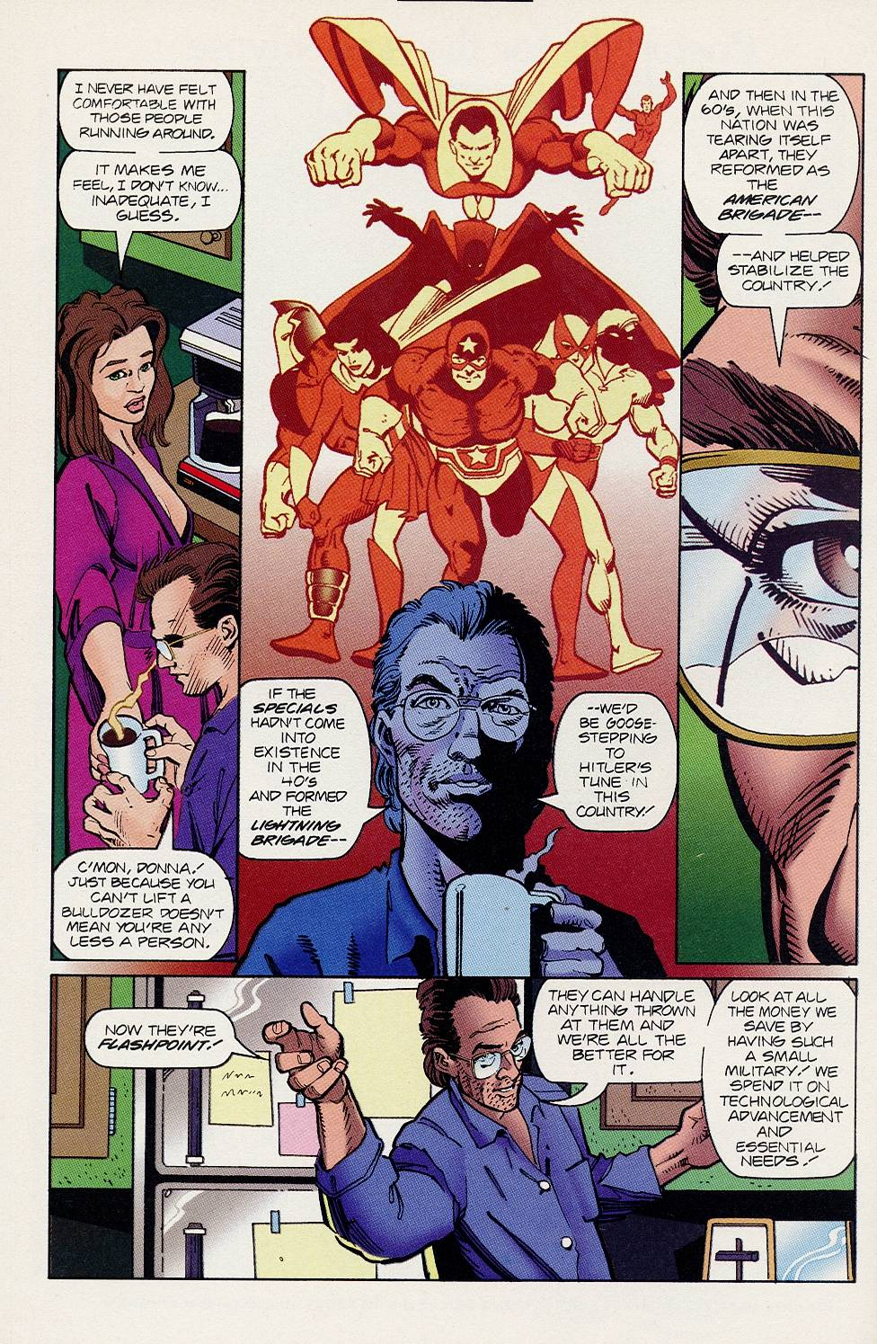 Read online Solar, Man of the Atom comic -  Issue #46 - 13