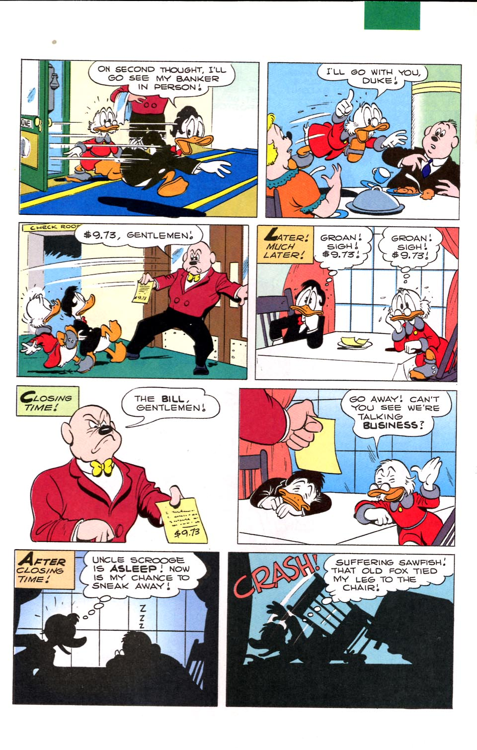 Read online Uncle Scrooge (1953) comic -  Issue #284 - 10