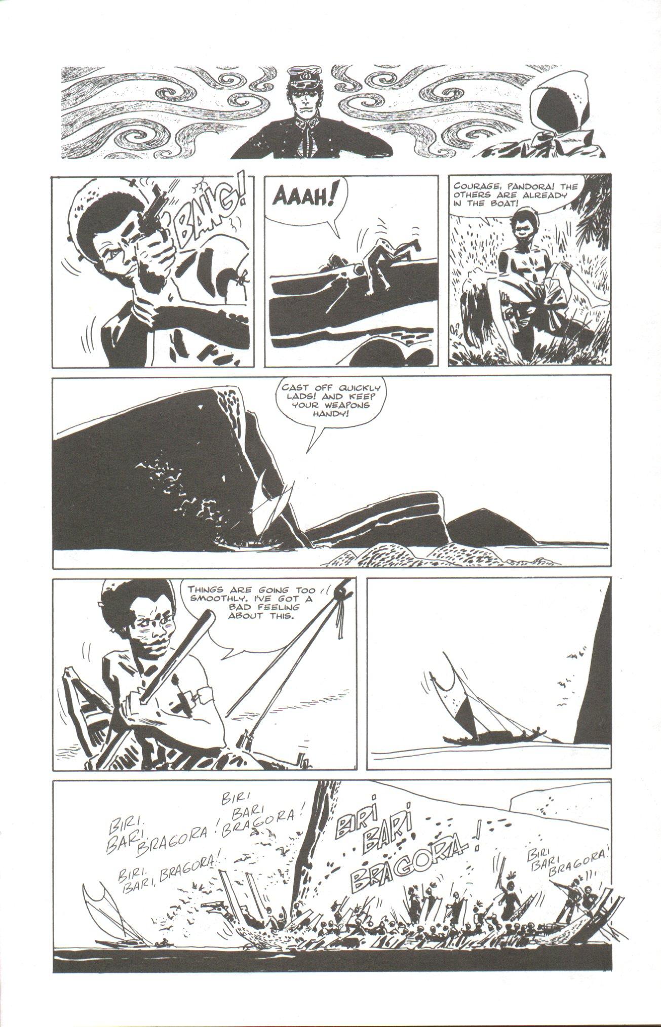 Read online Corto Maltese: Ballad of the Salt Sea comic -  Issue #2 - 21
