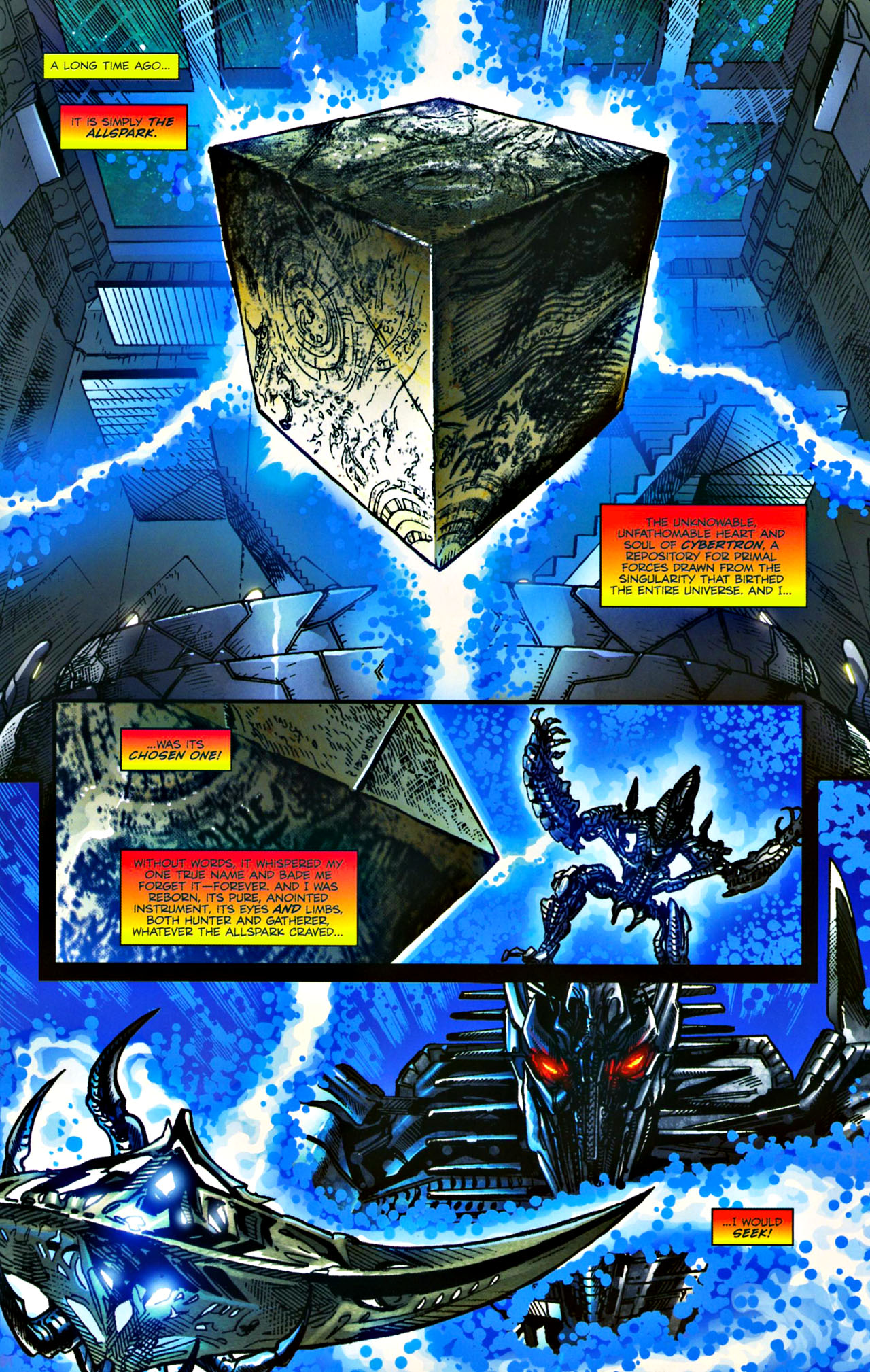 Read online Transformers: Tales of The Fallen comic -  Issue #4 - 3