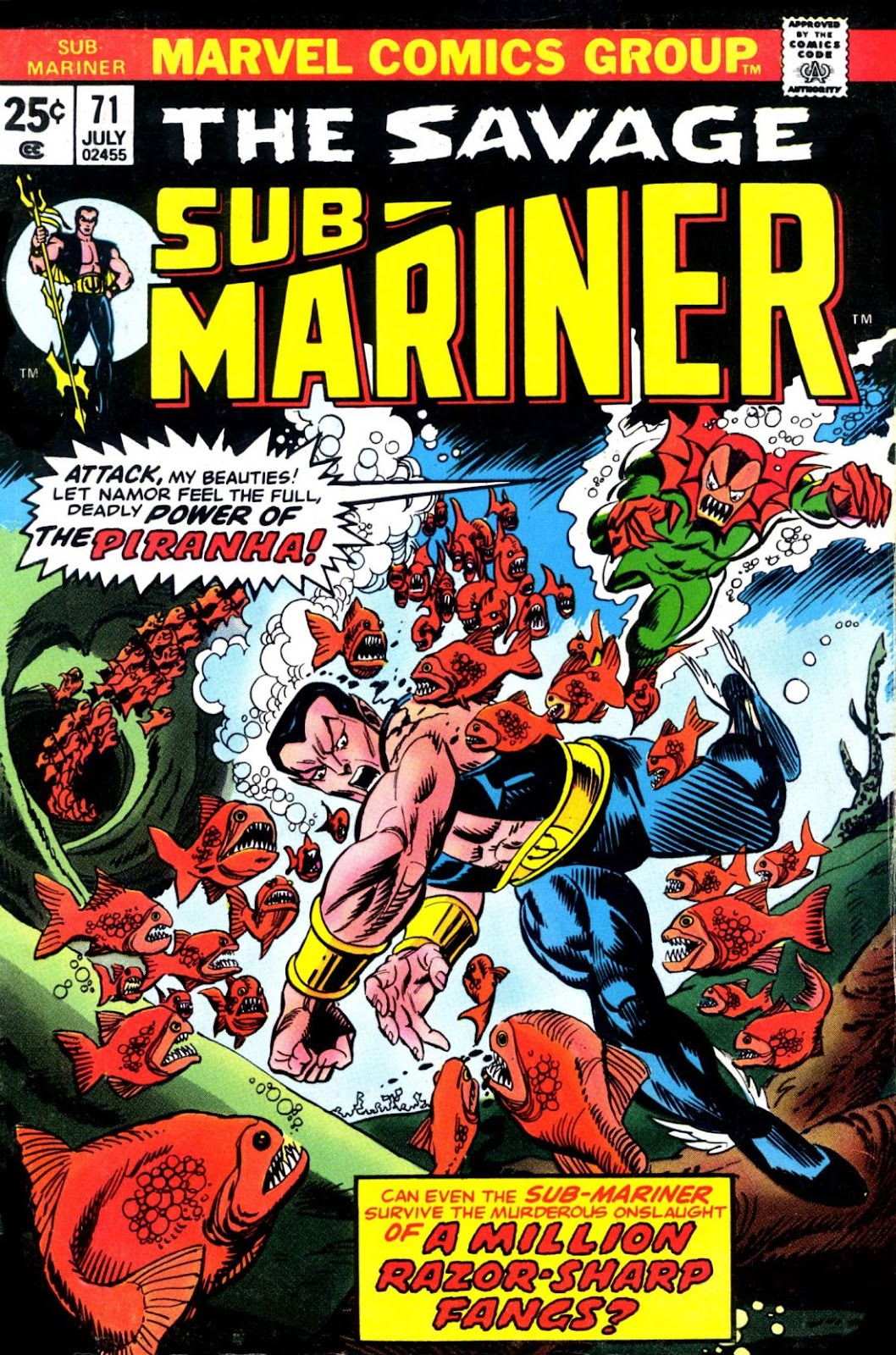 The Sub-Mariner 71 Page 1