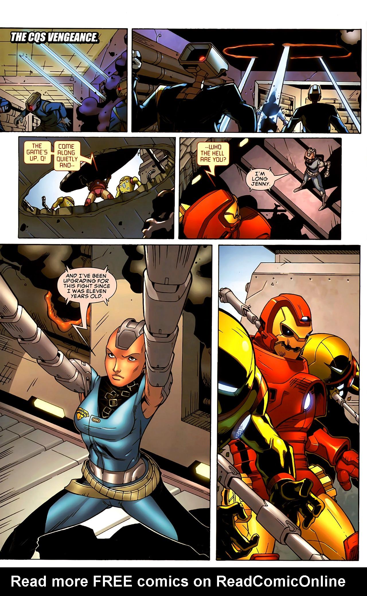 Read online Astonishing Tales (2009) comic -  Issue #5 - 15