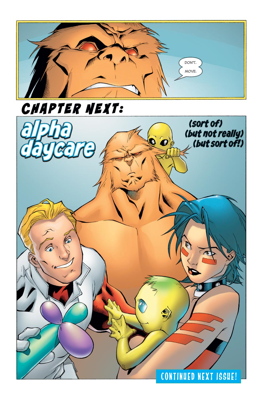 Read online Alpha Flight (2004) comic -  Issue #5 - 22