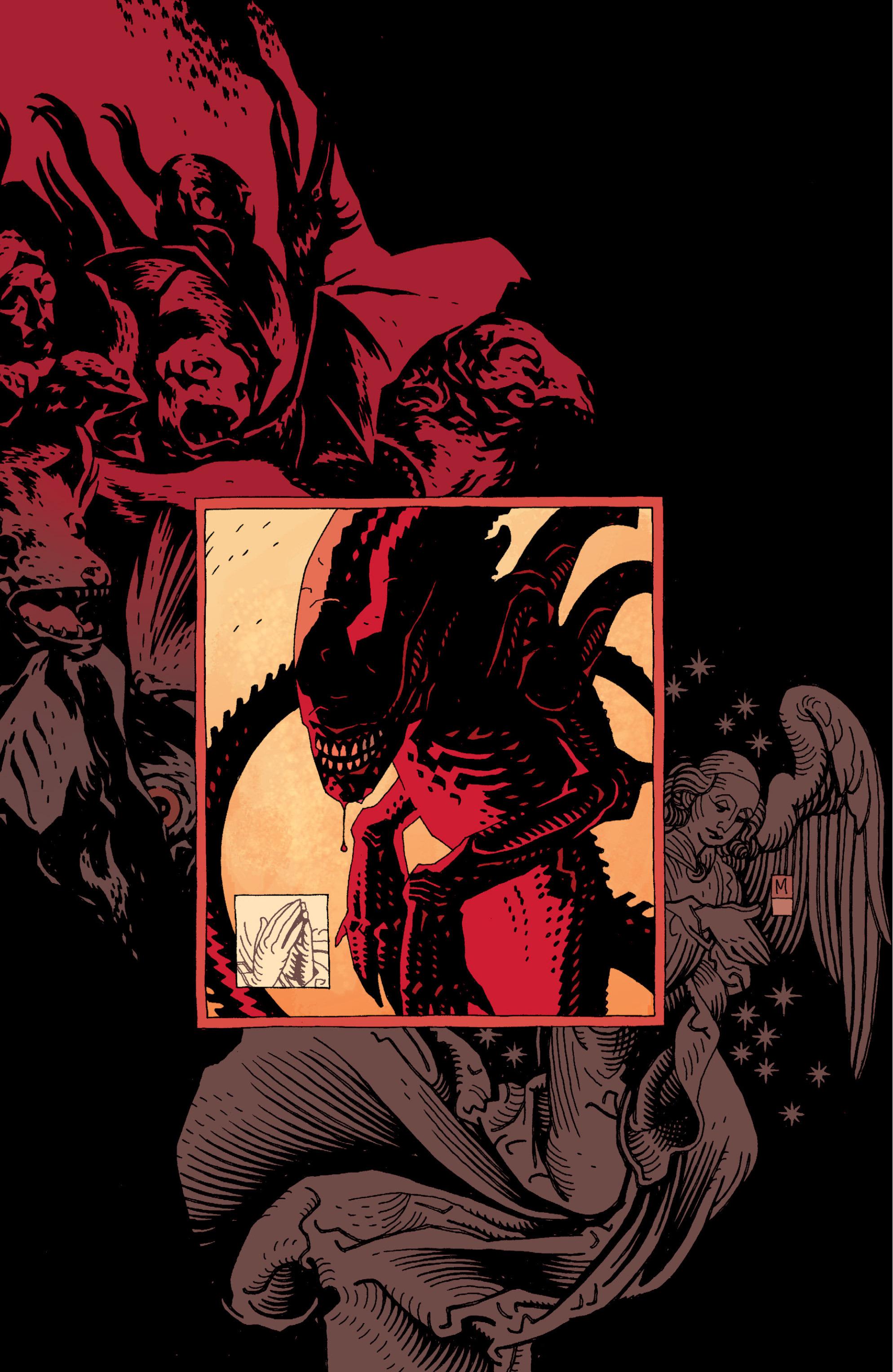 Read online Aliens: Salvation comic -  Issue # TPB - 4