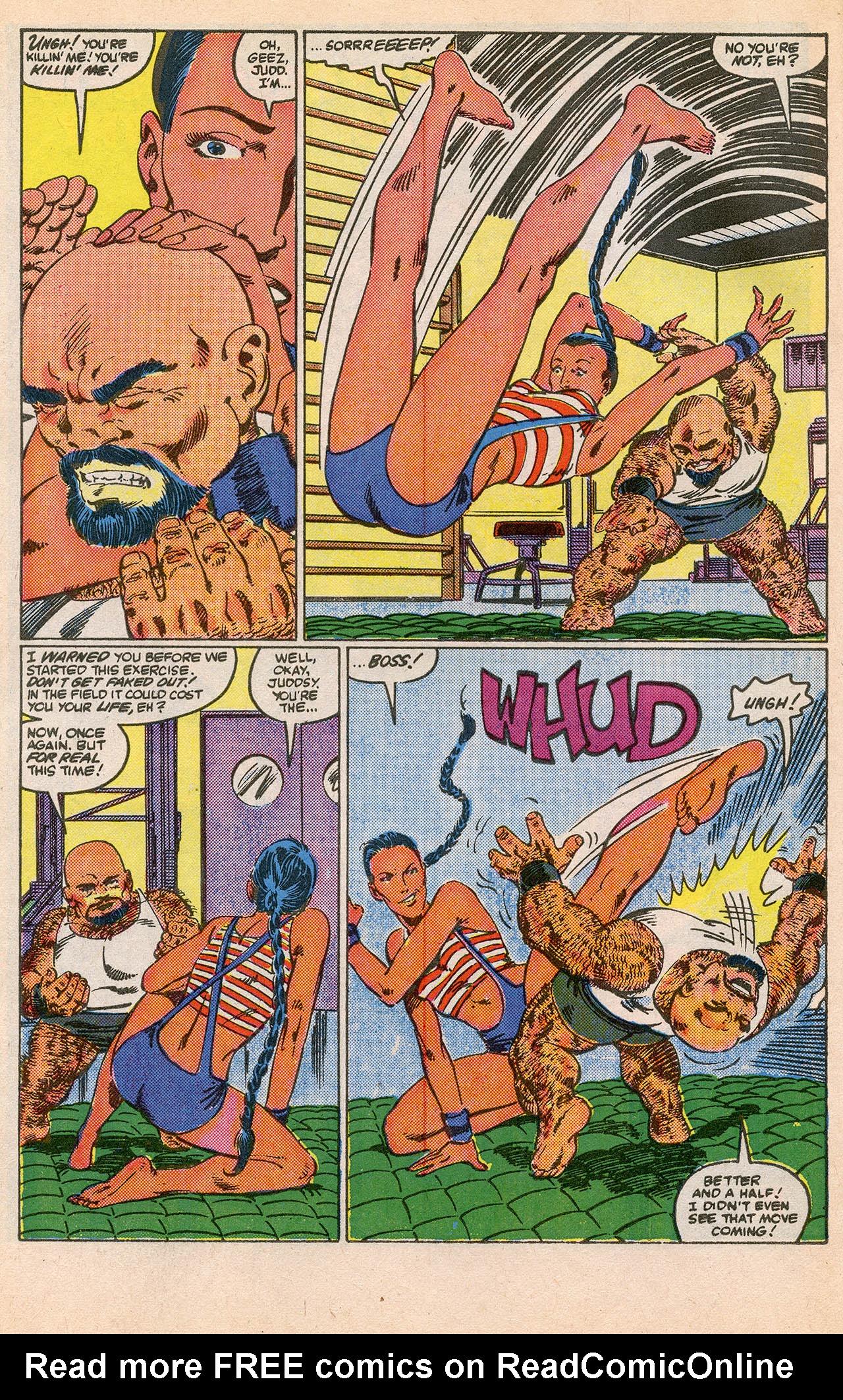 Read online Alpha Flight (1983) comic -  Issue #23 - 8