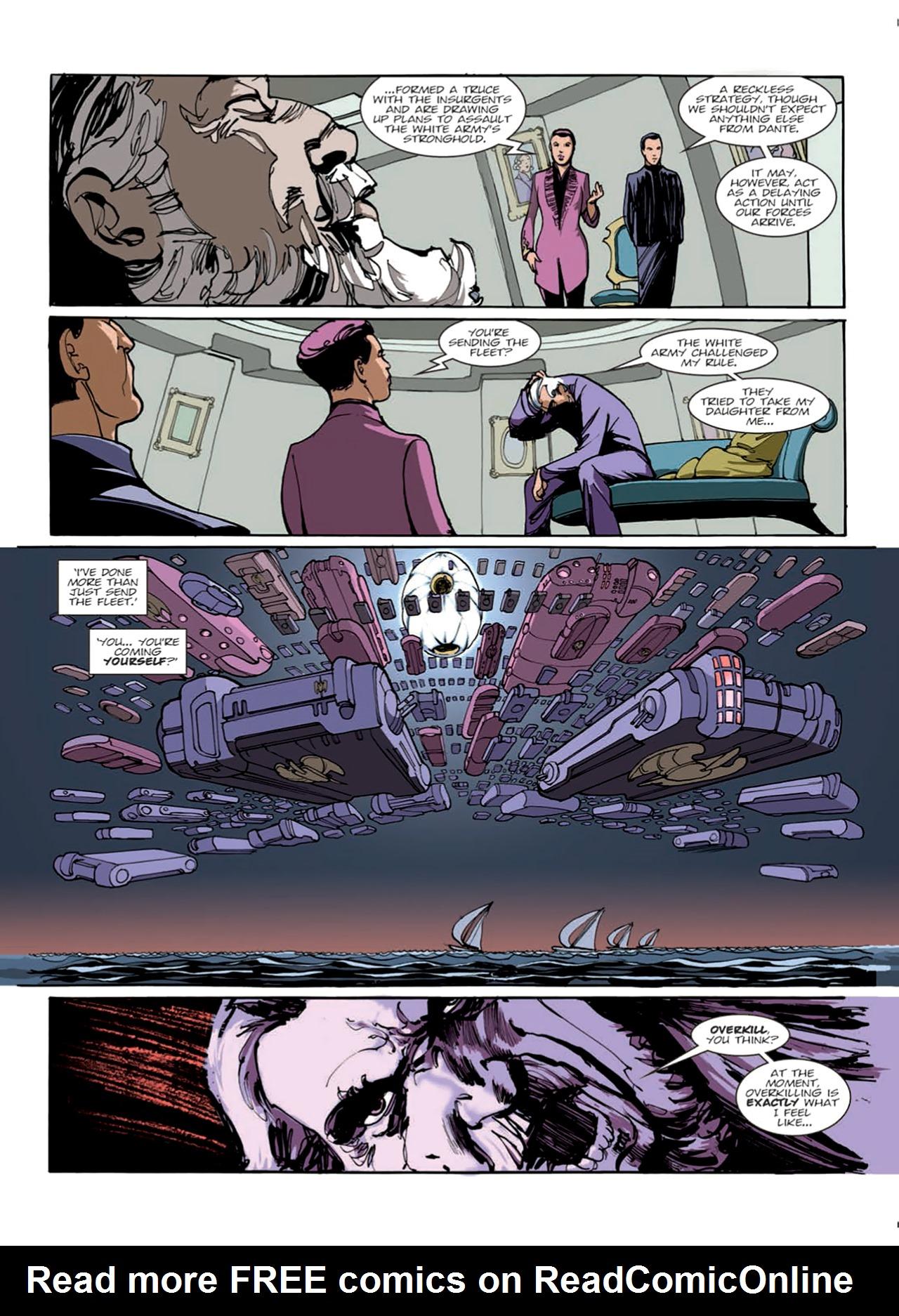 Read online Nikolai Dante comic -  Issue # TPB 9 - 59