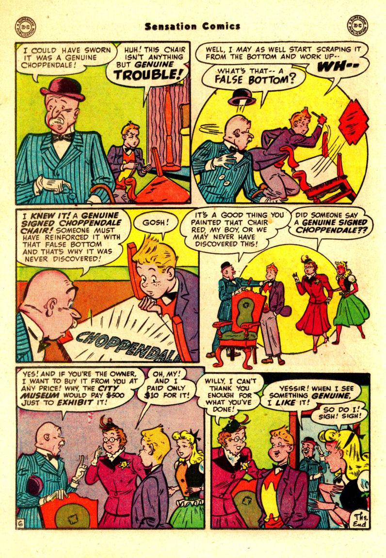Read online Sensation (Mystery) Comics comic -  Issue #88 - 29