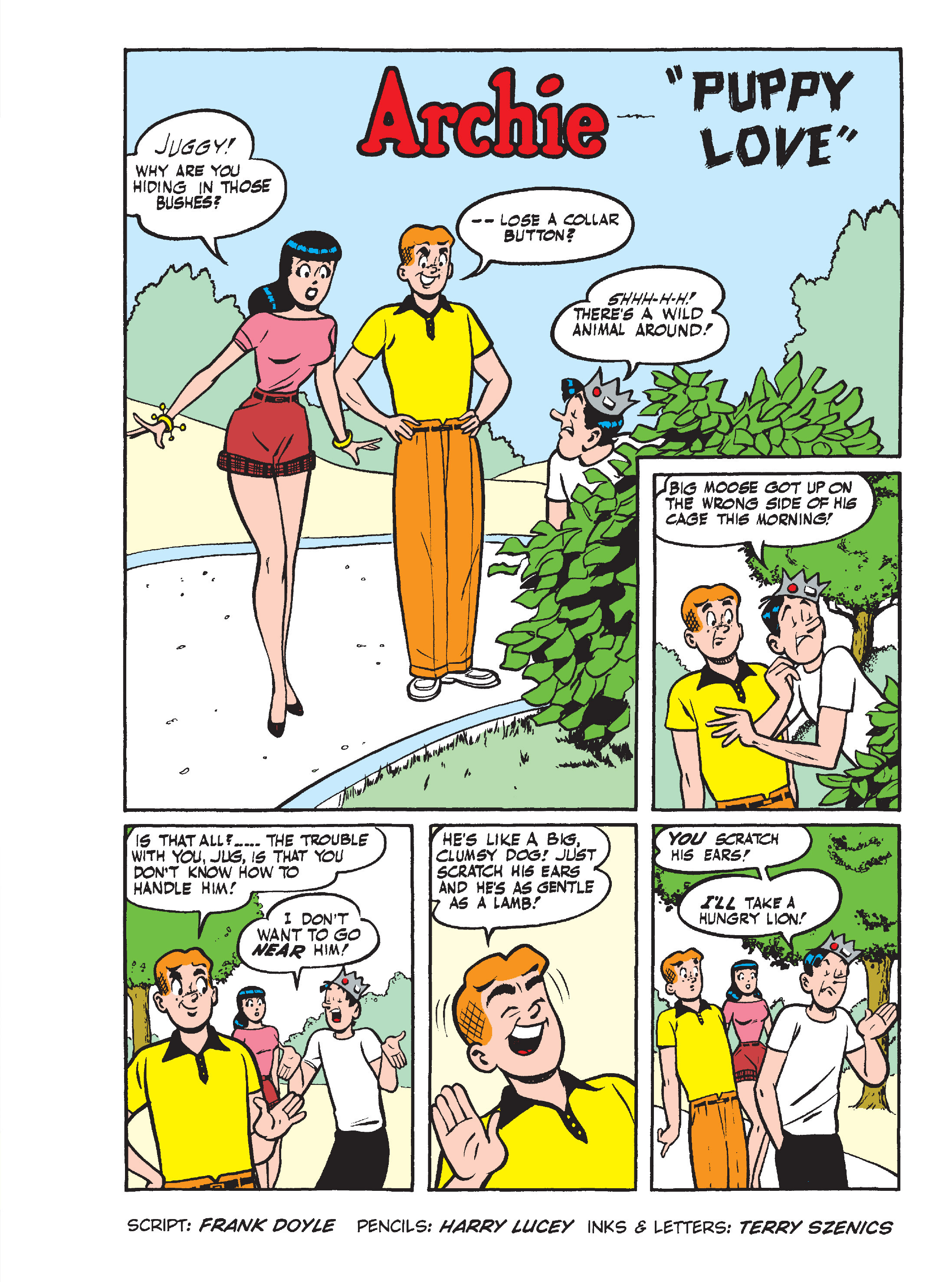 Read online Archie's Funhouse Double Digest comic -  Issue #15 - 124