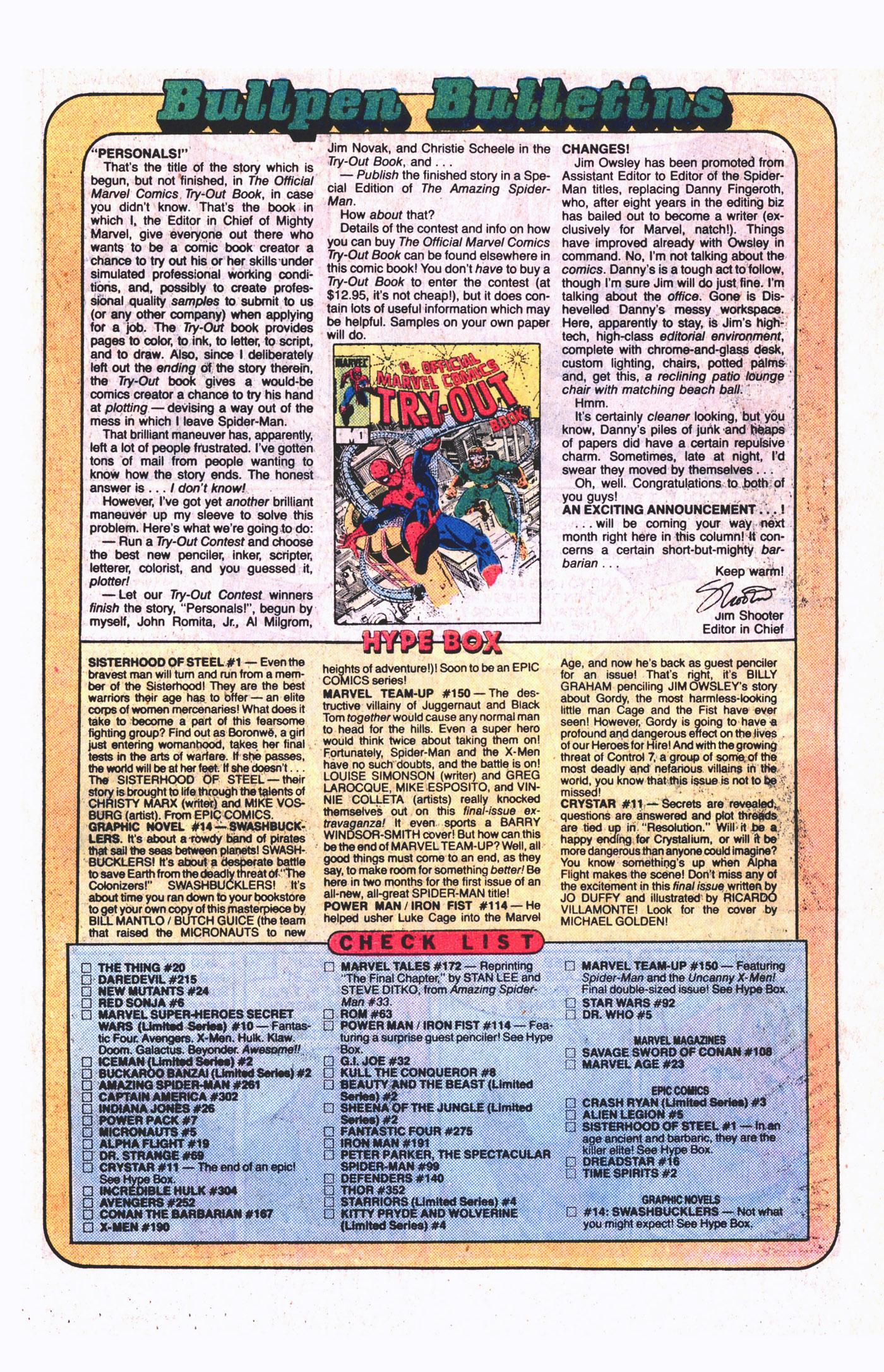 Read online Alpha Flight (1983) comic -  Issue #19 - 24