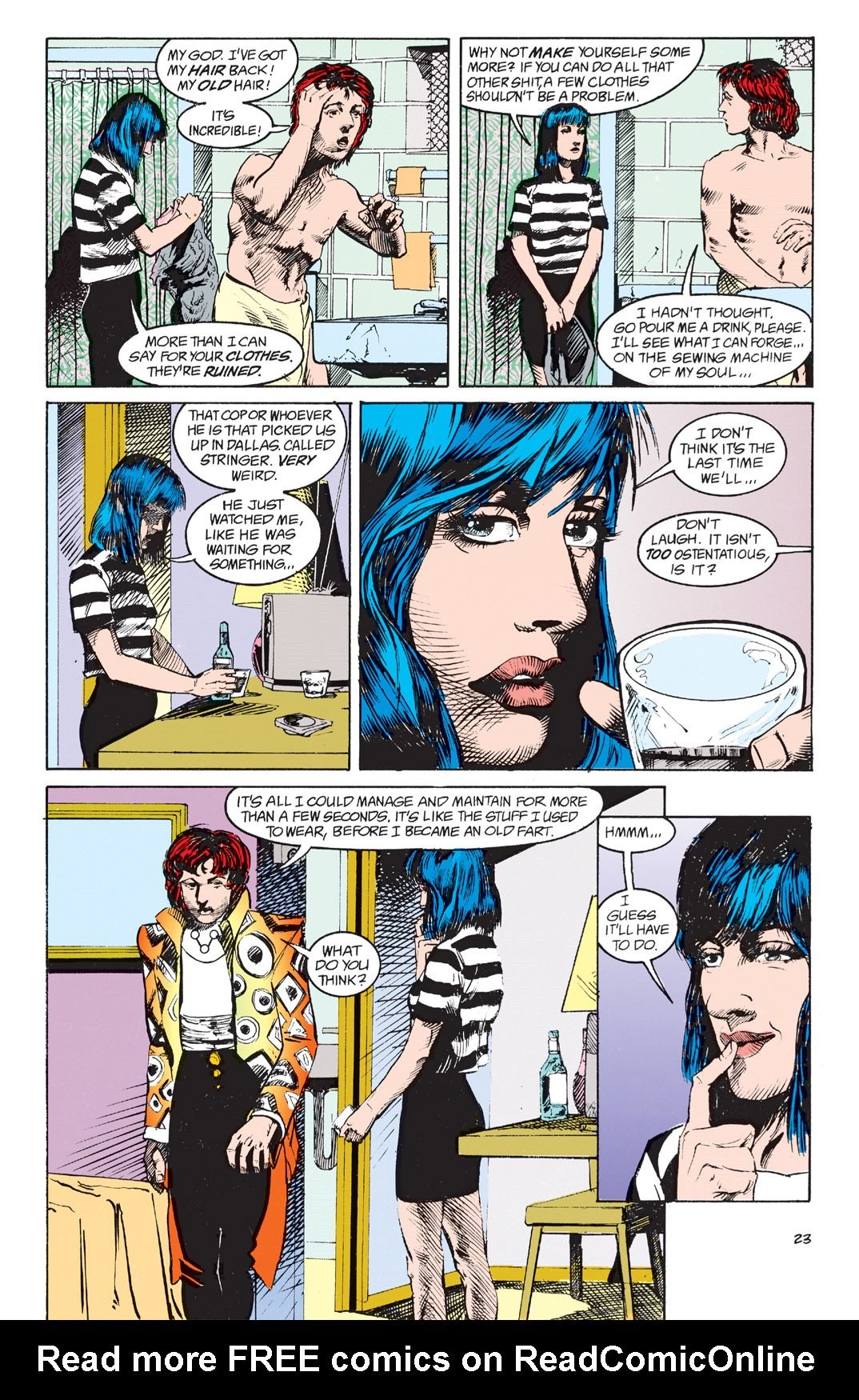 Read online Shade, the Changing Man comic -  Issue #4 - 25