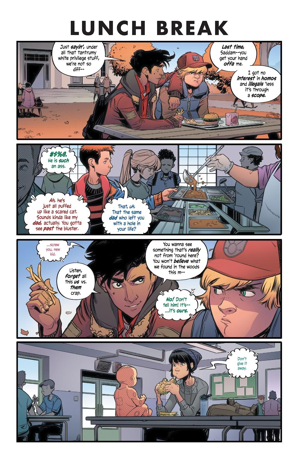 Read online Alienated comic -  Issue #1 - 15