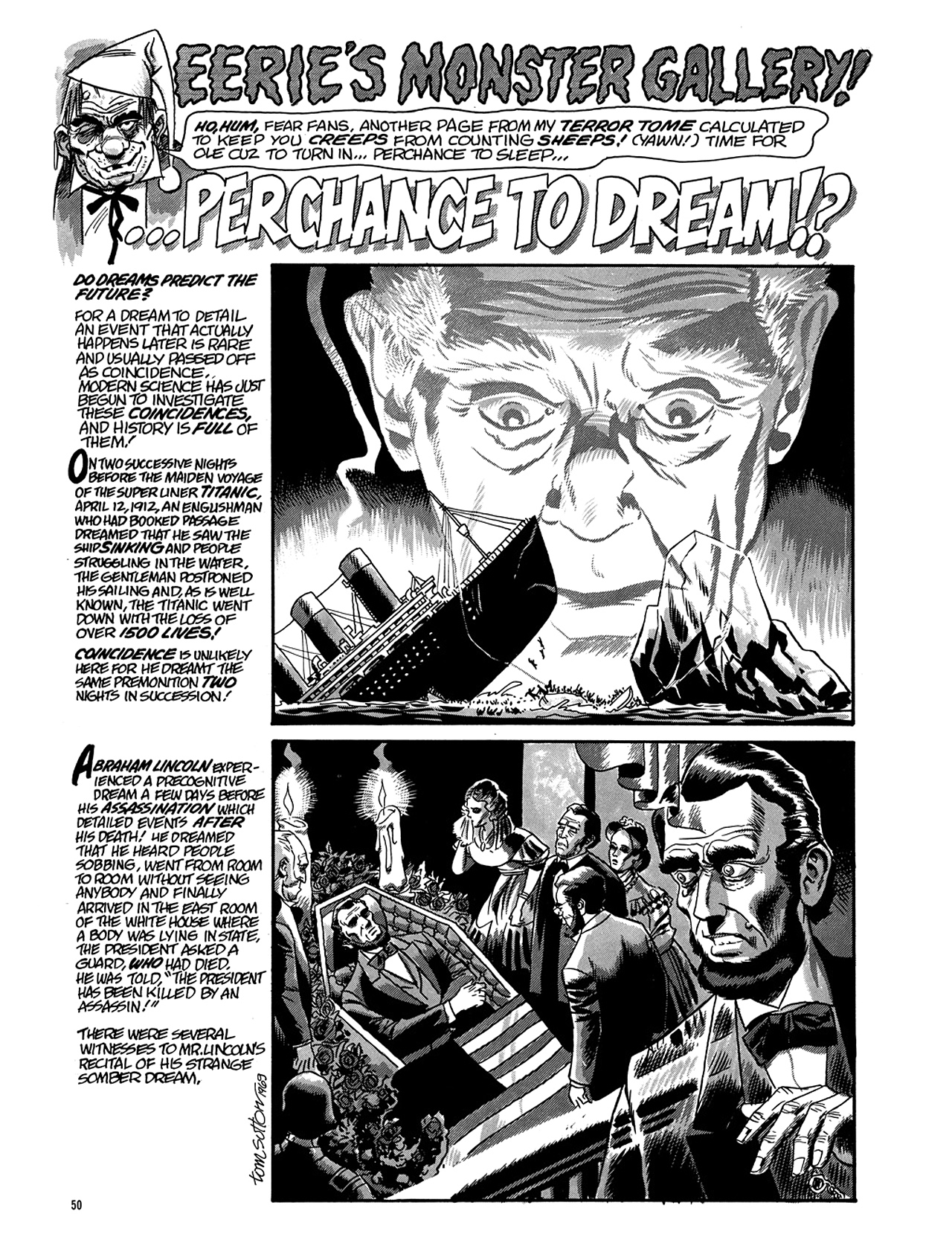 Read online Eerie Archives comic -  Issue # TPB 5 - 51