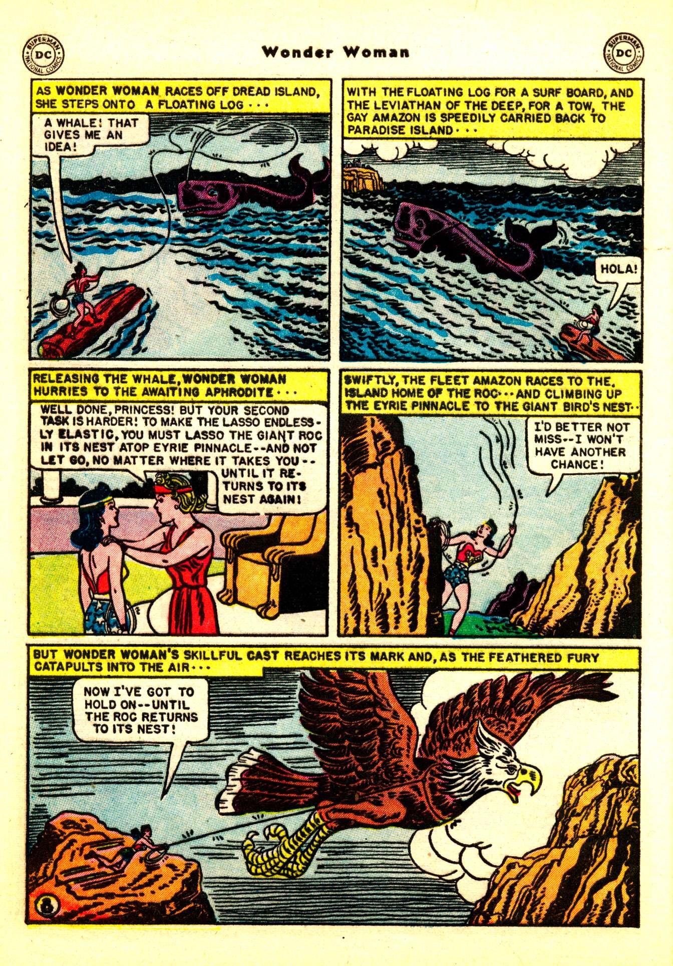 Read online Wonder Woman (1942) comic -  Issue #50 - 38