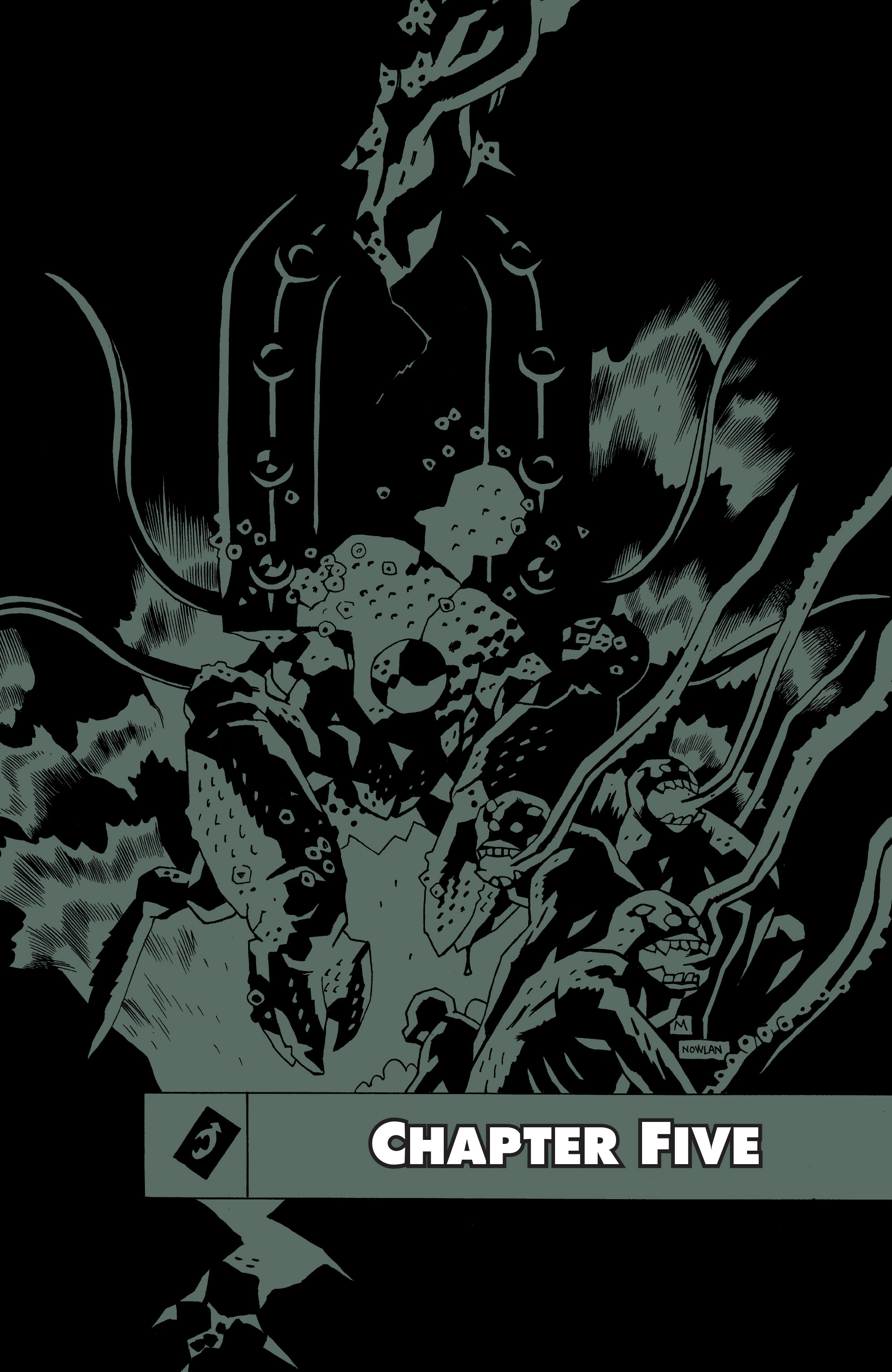 Read online B.P.R.D. (2003) comic -  Issue # TPB 10 - 115