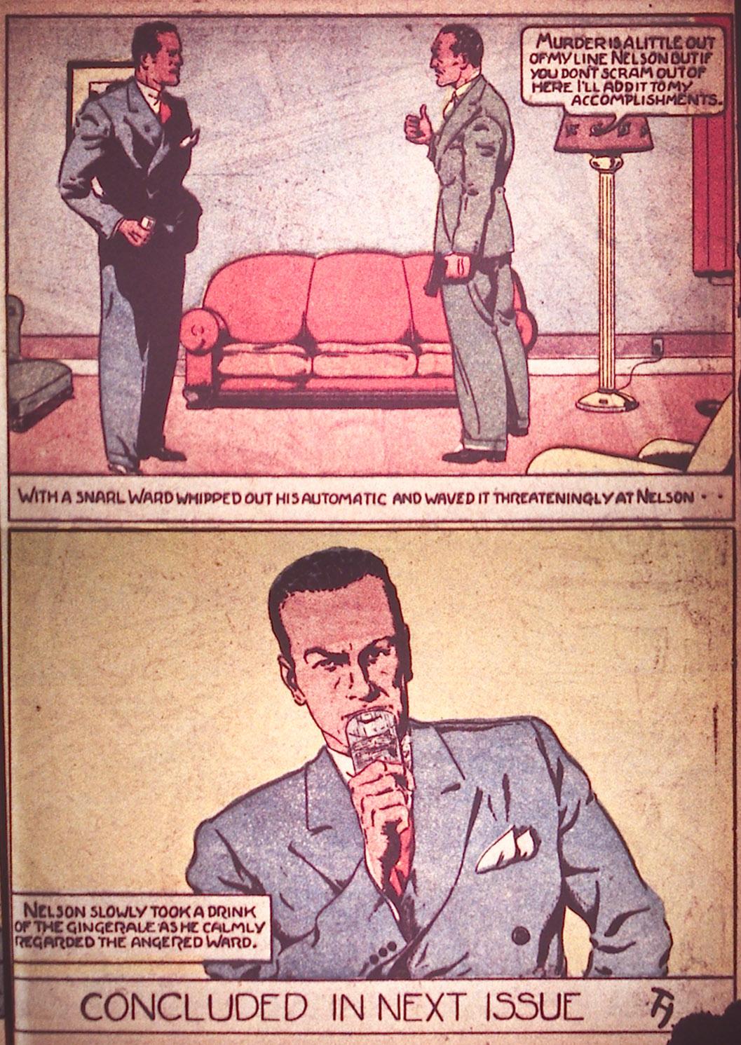 Read online Detective Comics (1937) comic -  Issue #12 - 33