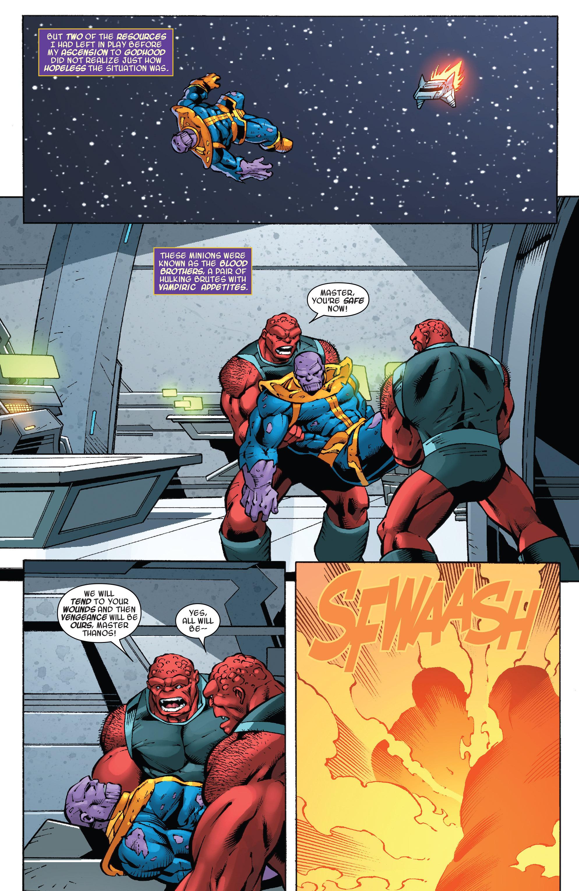 Read online Thanos Annual comic -  Issue # Annual - 7