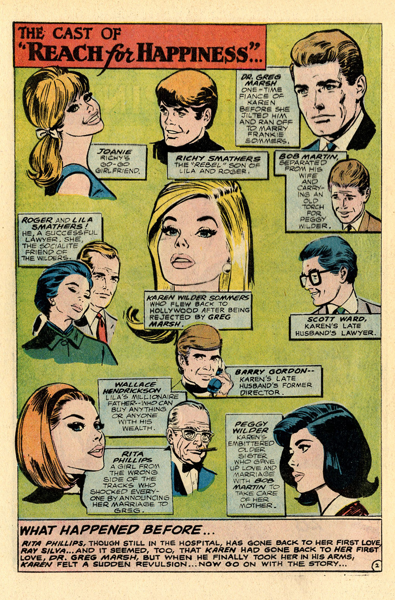 Read online Secret Hearts comic -  Issue #137 - 20