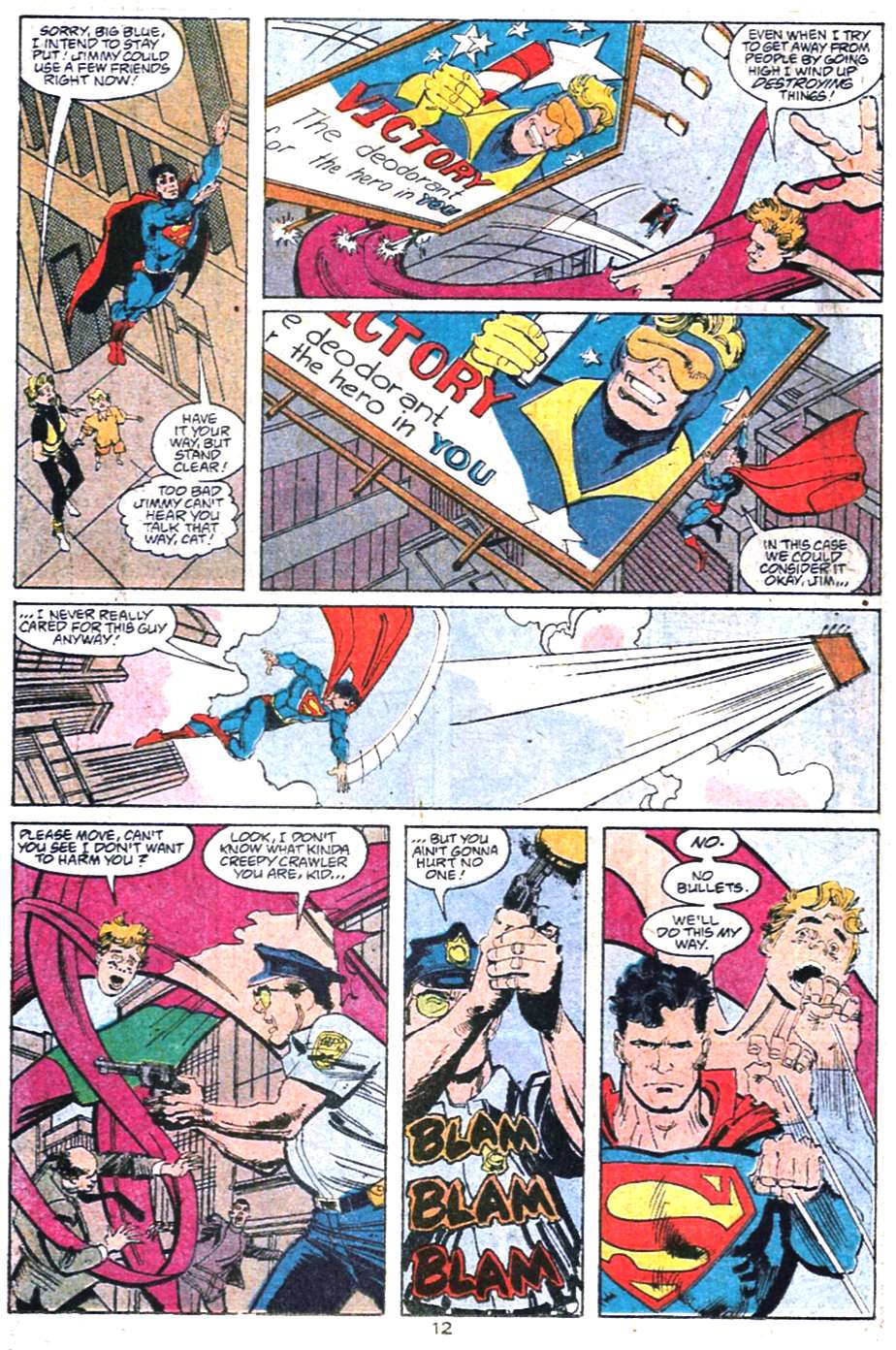 Read online Adventures of Superman (1987) comic -  Issue #458 - 13