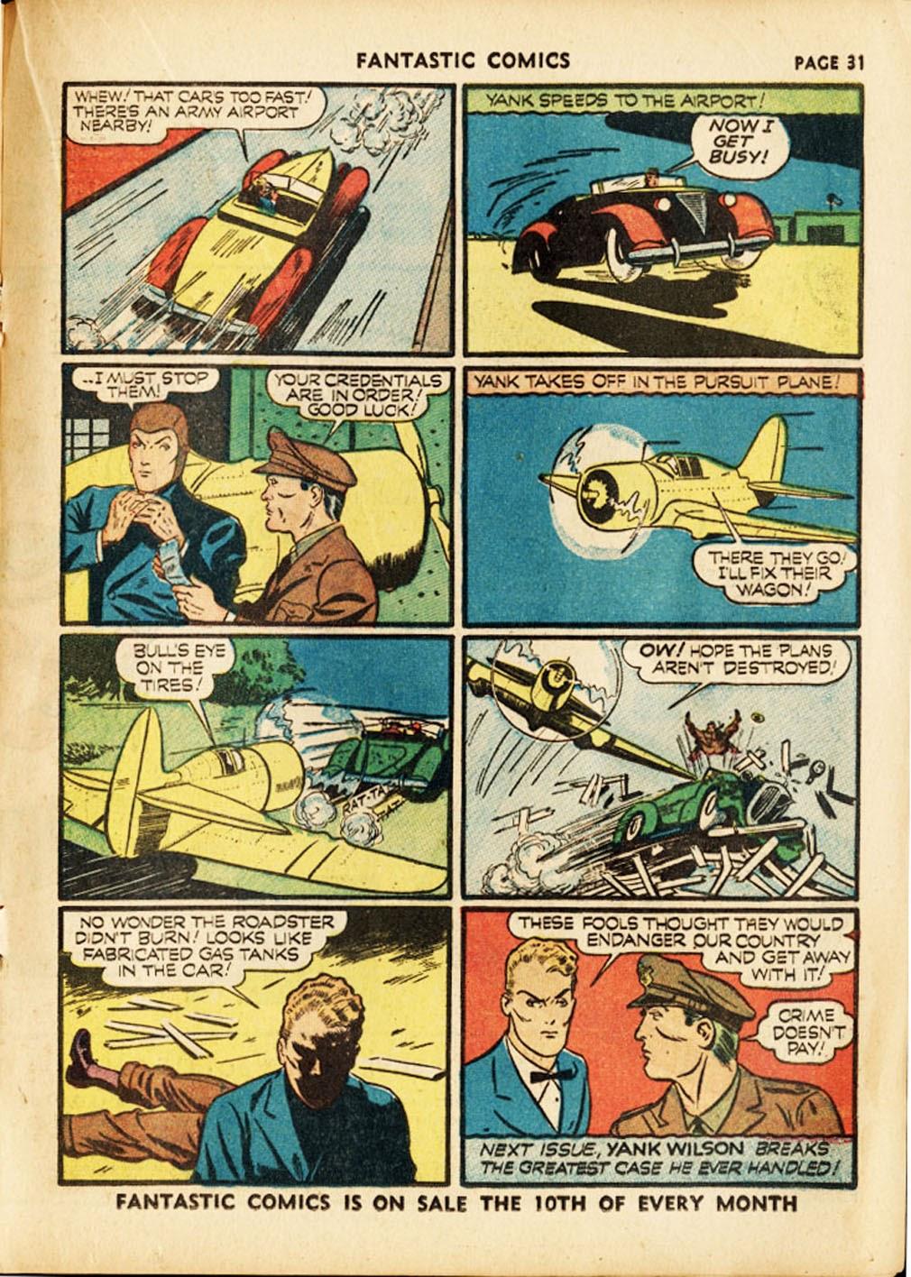 Read online Fantastic Comics comic -  Issue #17 - 33