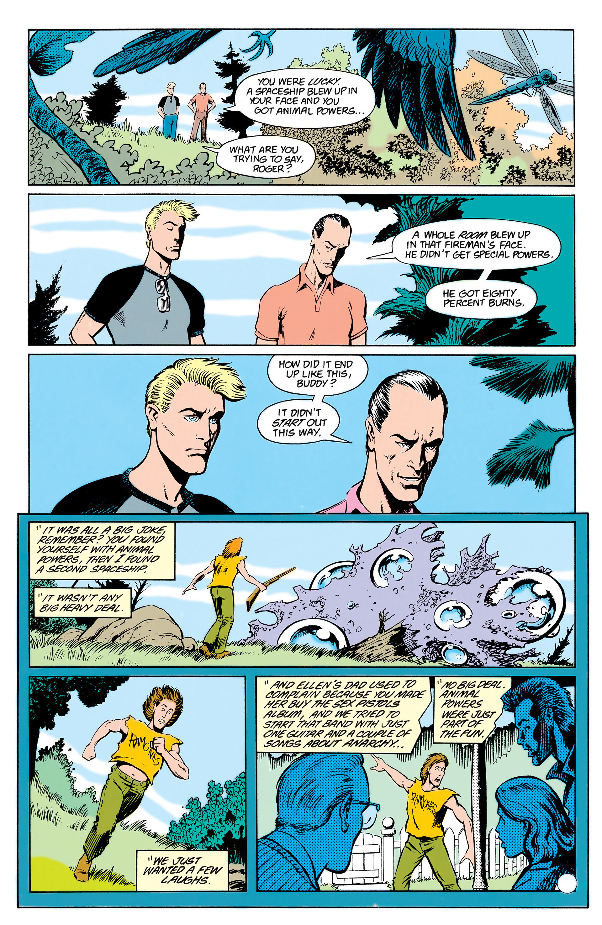 Read online Animal Man (1988) comic -  Issue #17 - 16