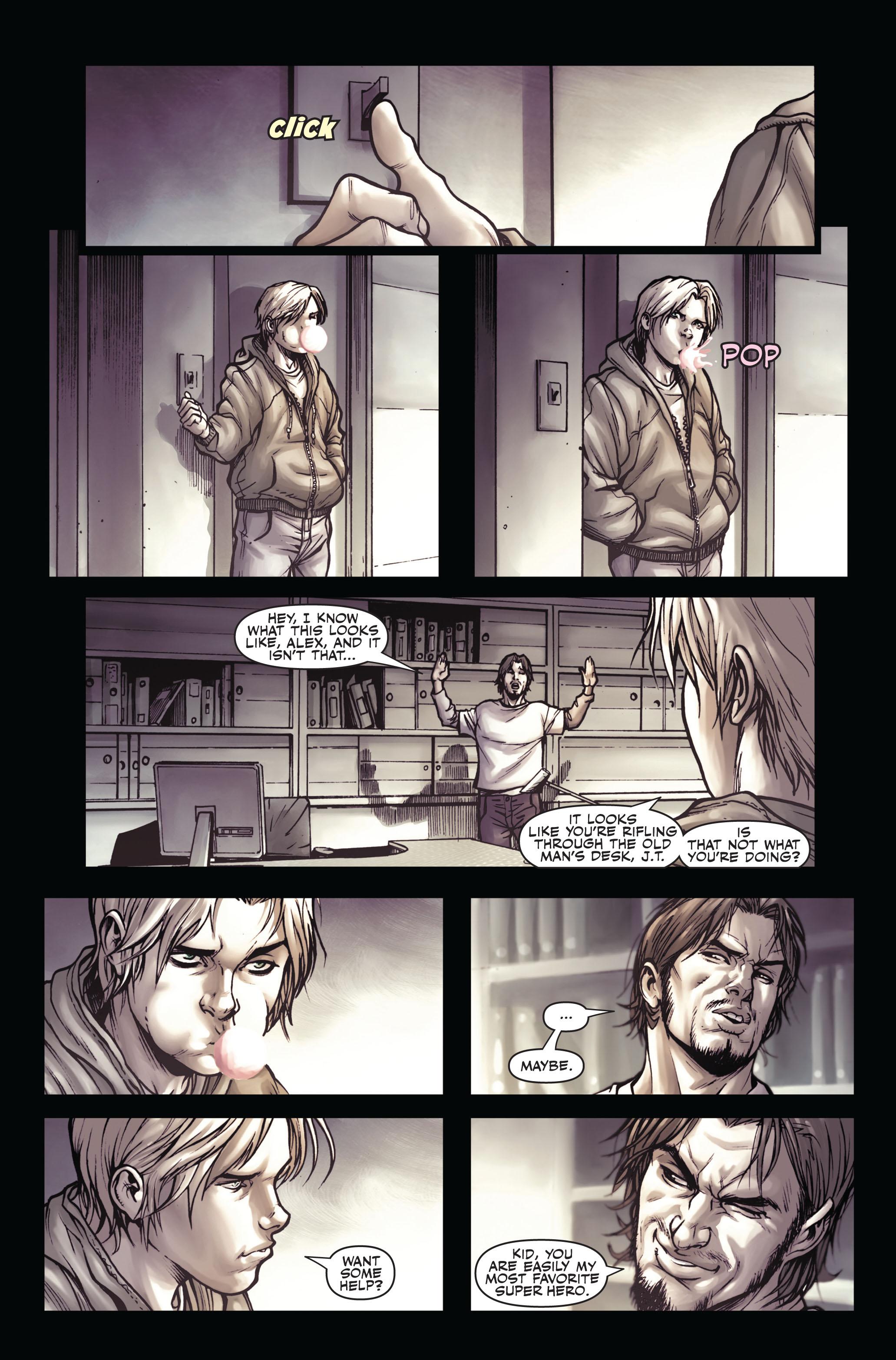 Read online Secret Warriors comic -  Issue #4 - 10