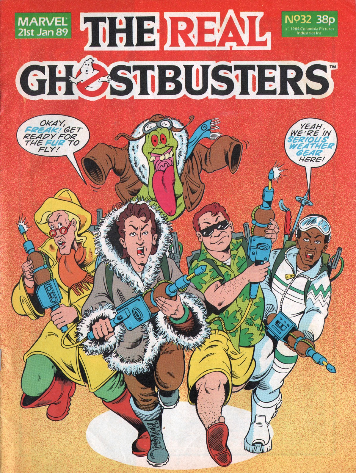 The Real Ghostbusters 32 Page 1