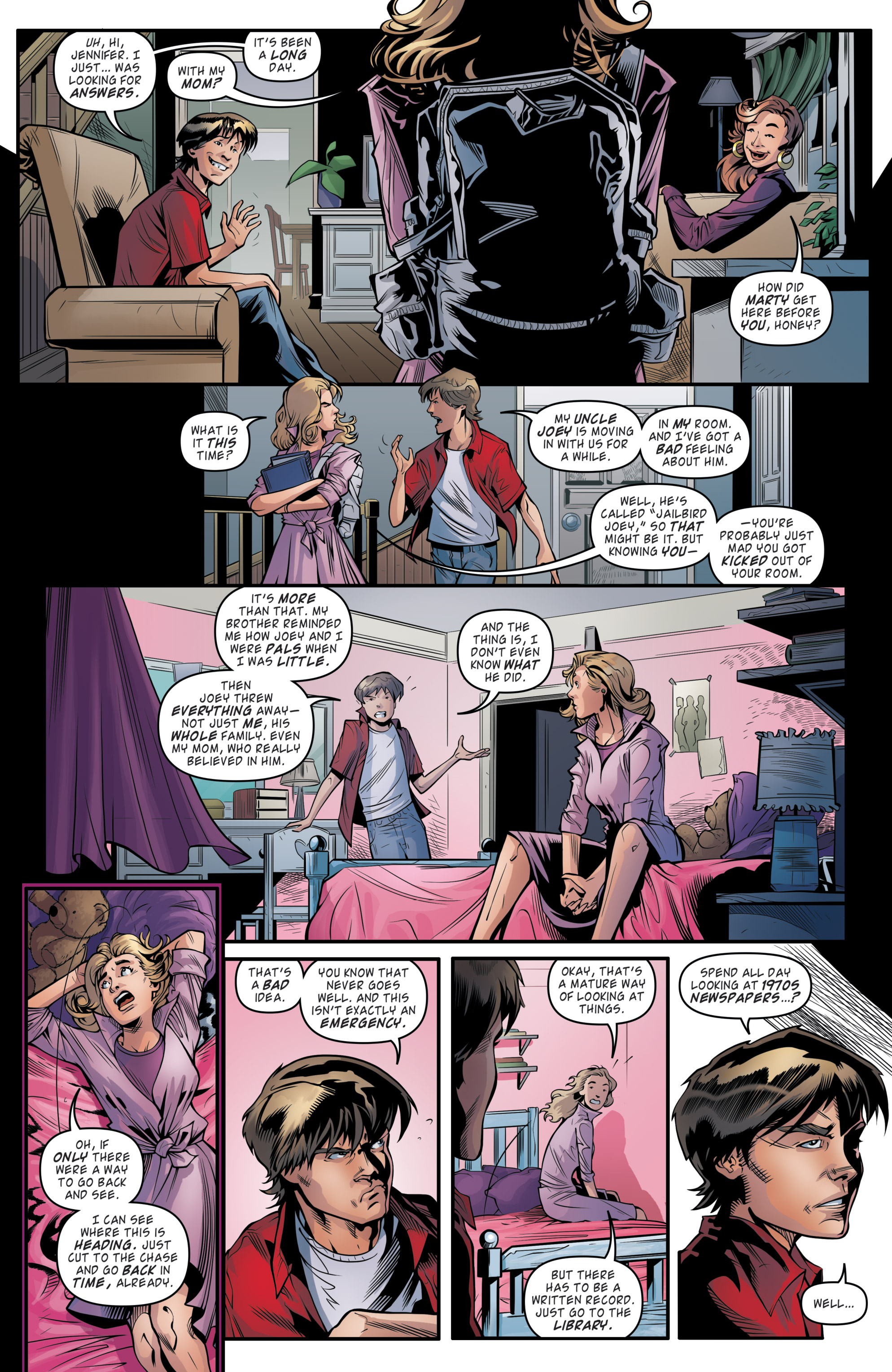Read online Back to the Future (2015) comic -  Issue #19 - 15