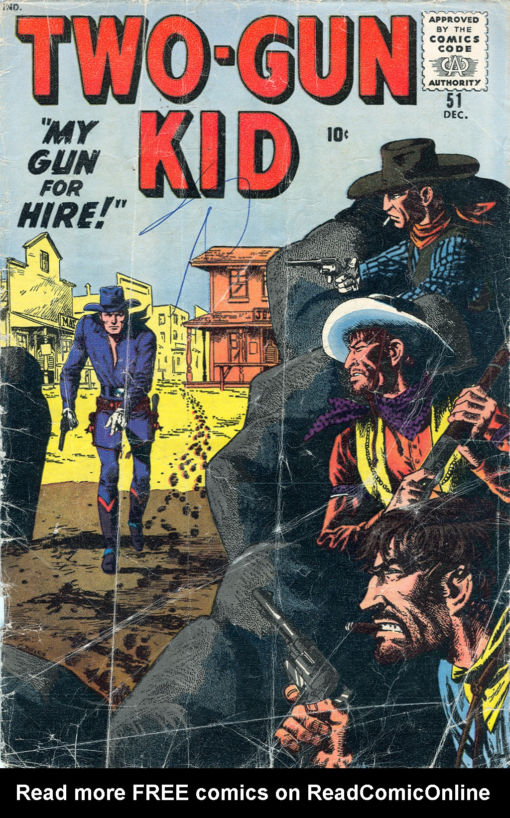 Read online Two-Gun Kid comic -  Issue #51 - 1