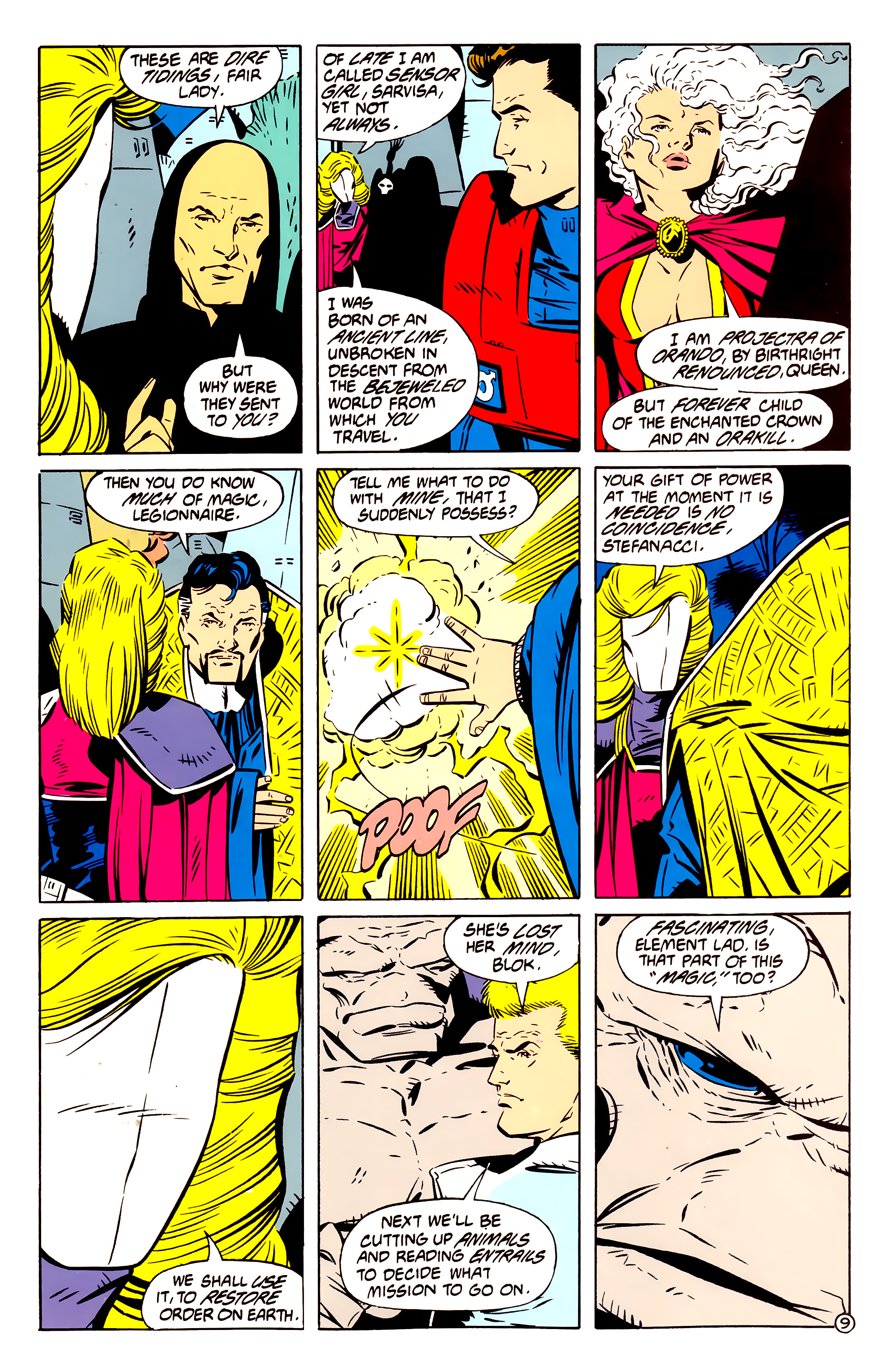 Legion of Super-Heroes (1984) 61 Page 9