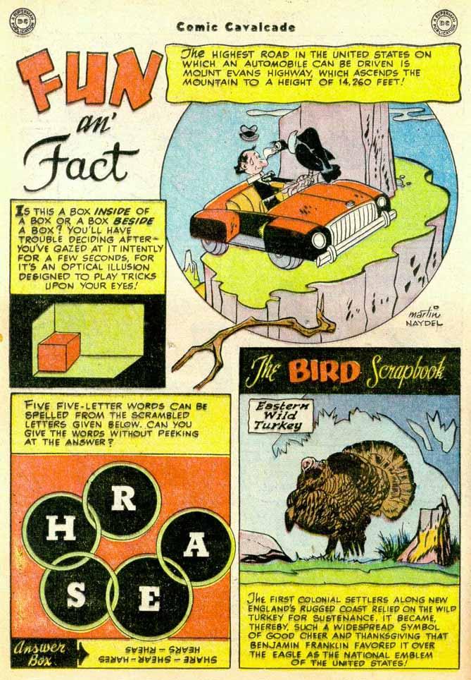 Comic Cavalcade issue 35 - Page 22