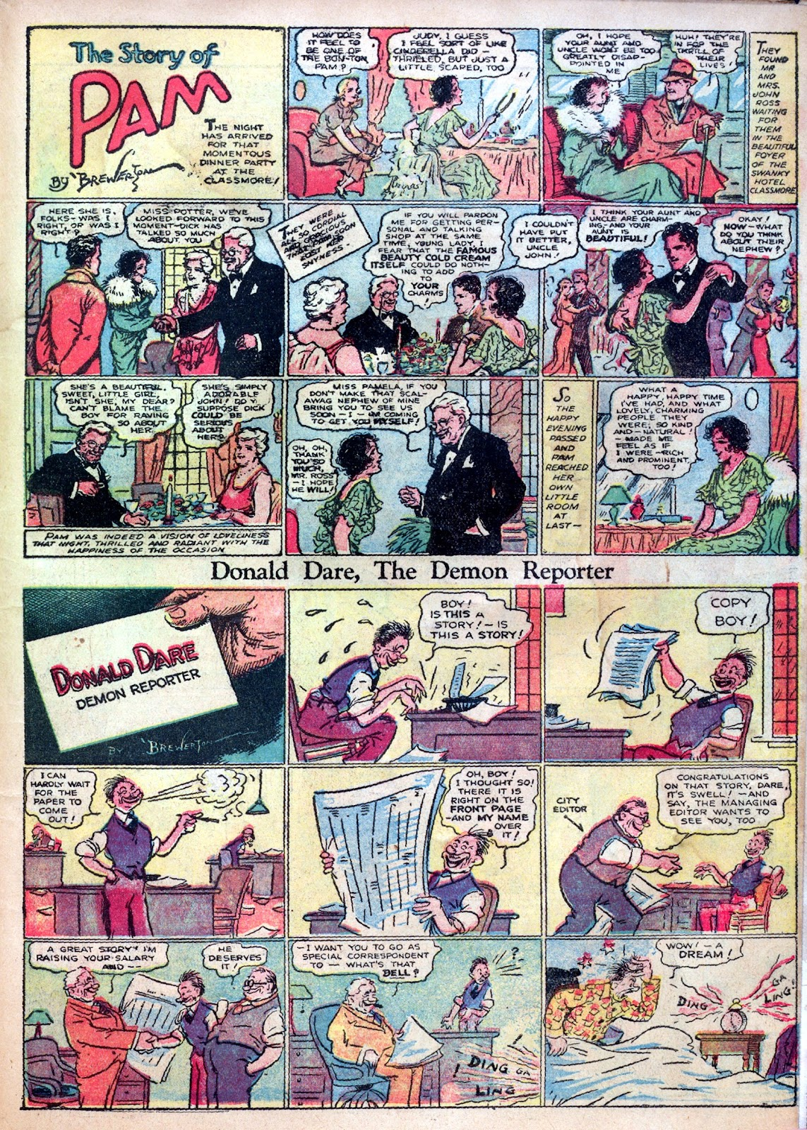Read online Famous Funnies comic -  Issue #1 - 59