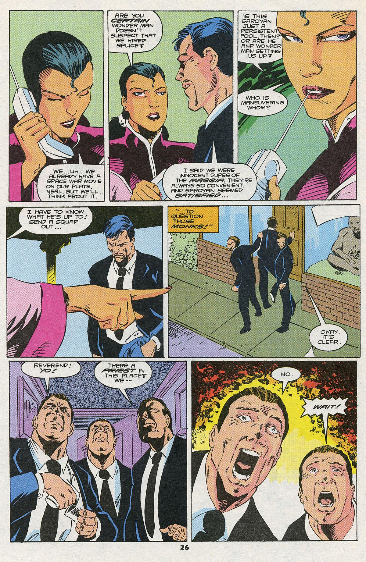 Read online Wonder Man (1991) comic -  Issue #10 - 20