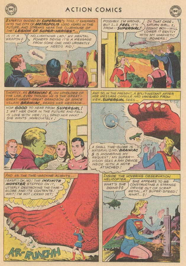 Read online Action Comics (1938) comic -  Issue #285 - 25