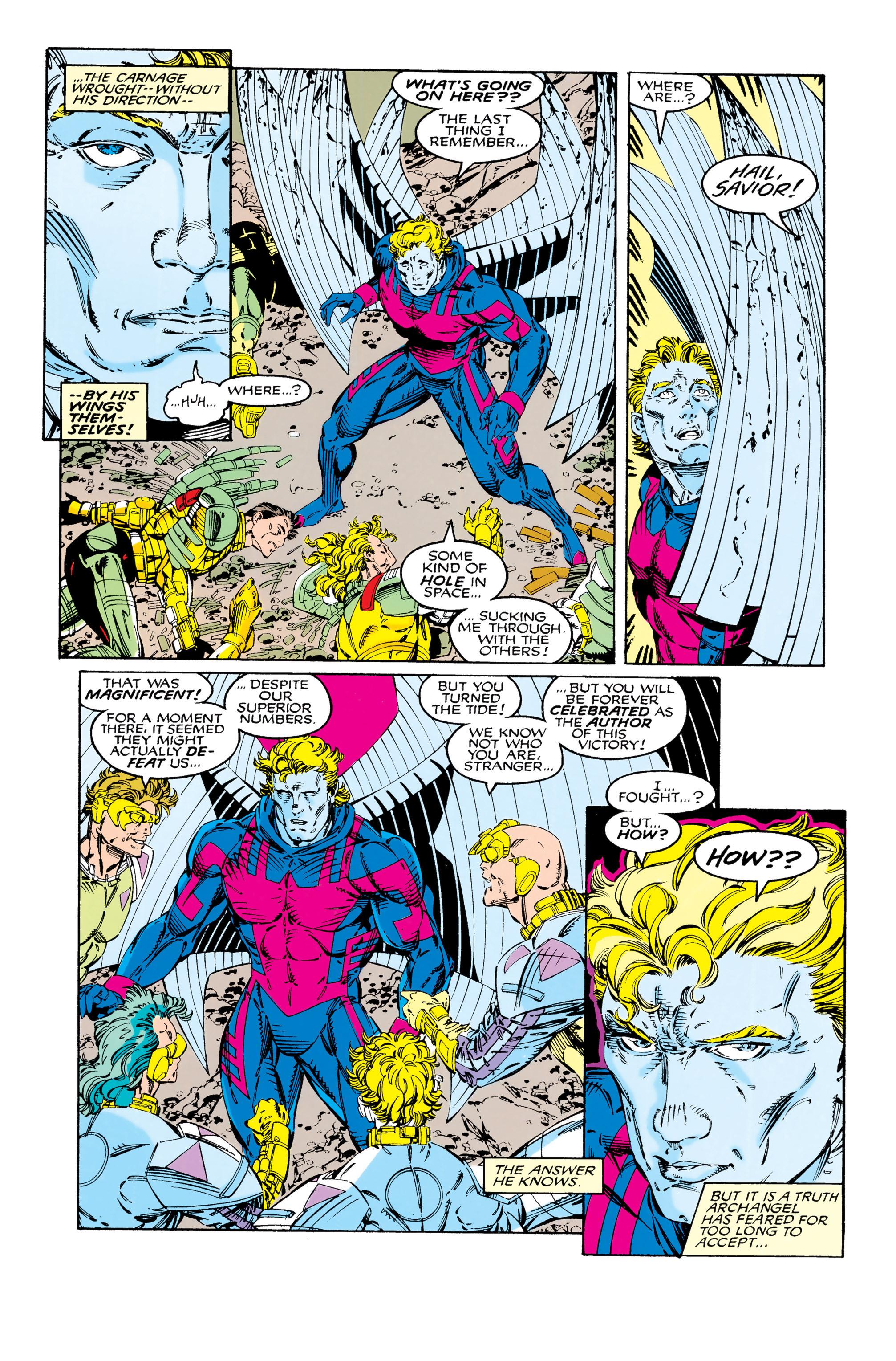 Read online Uncanny X-Men (1963) comic -  Issue #285 - 11