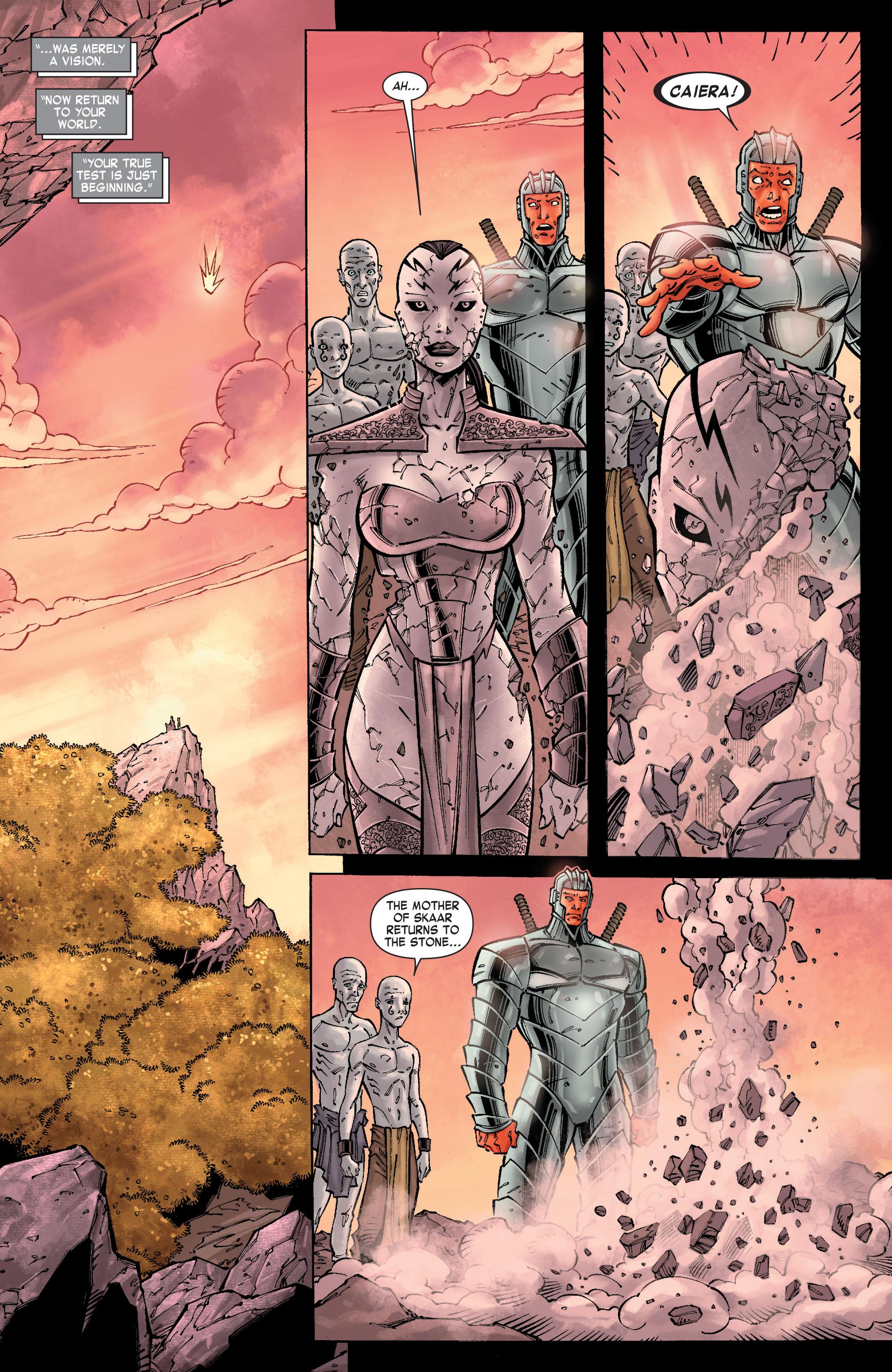 Read online Skaar: Son of Hulk comic -  Issue #10 - 13