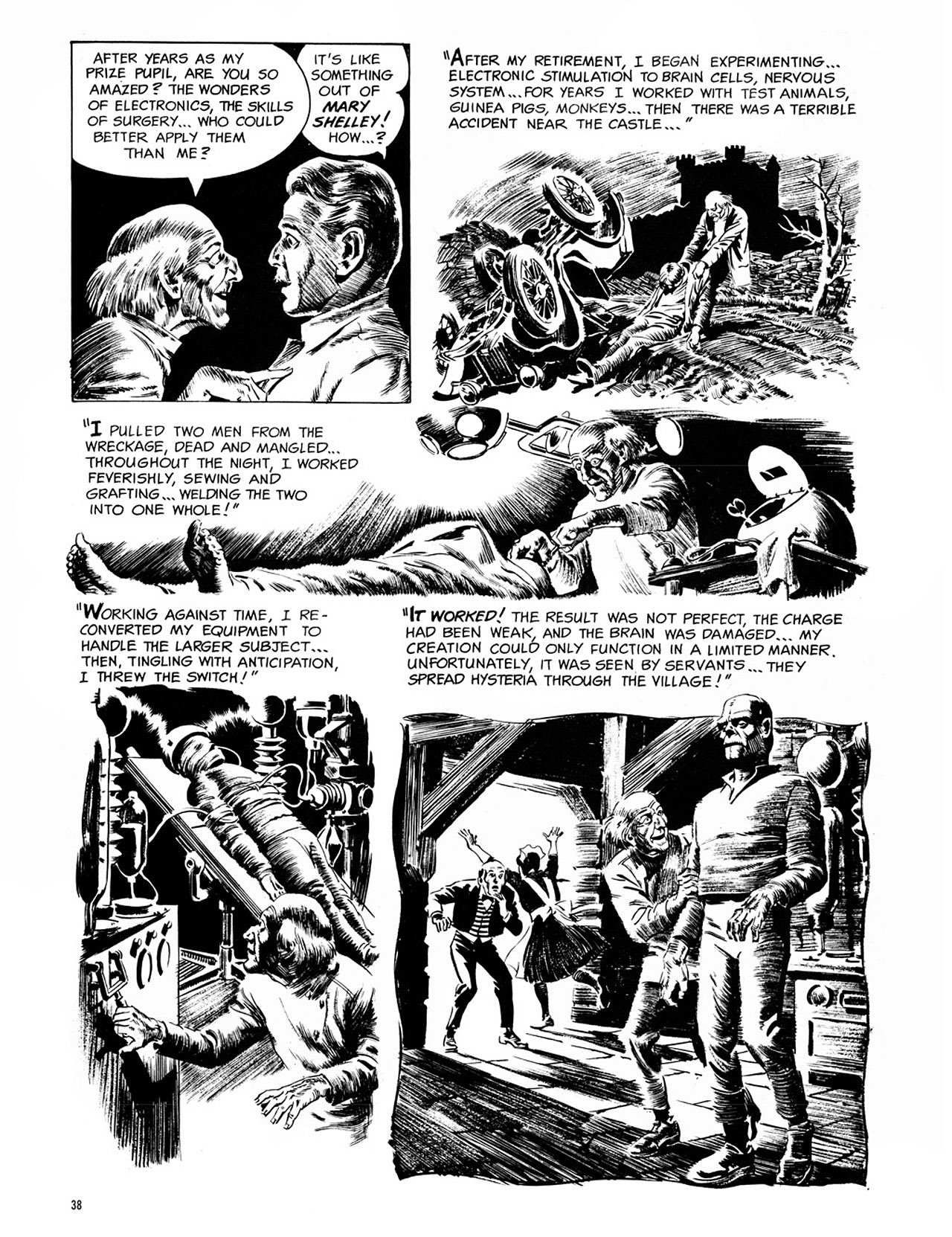 Read online Eerie Archives comic -  Issue # TPB 1 - 39