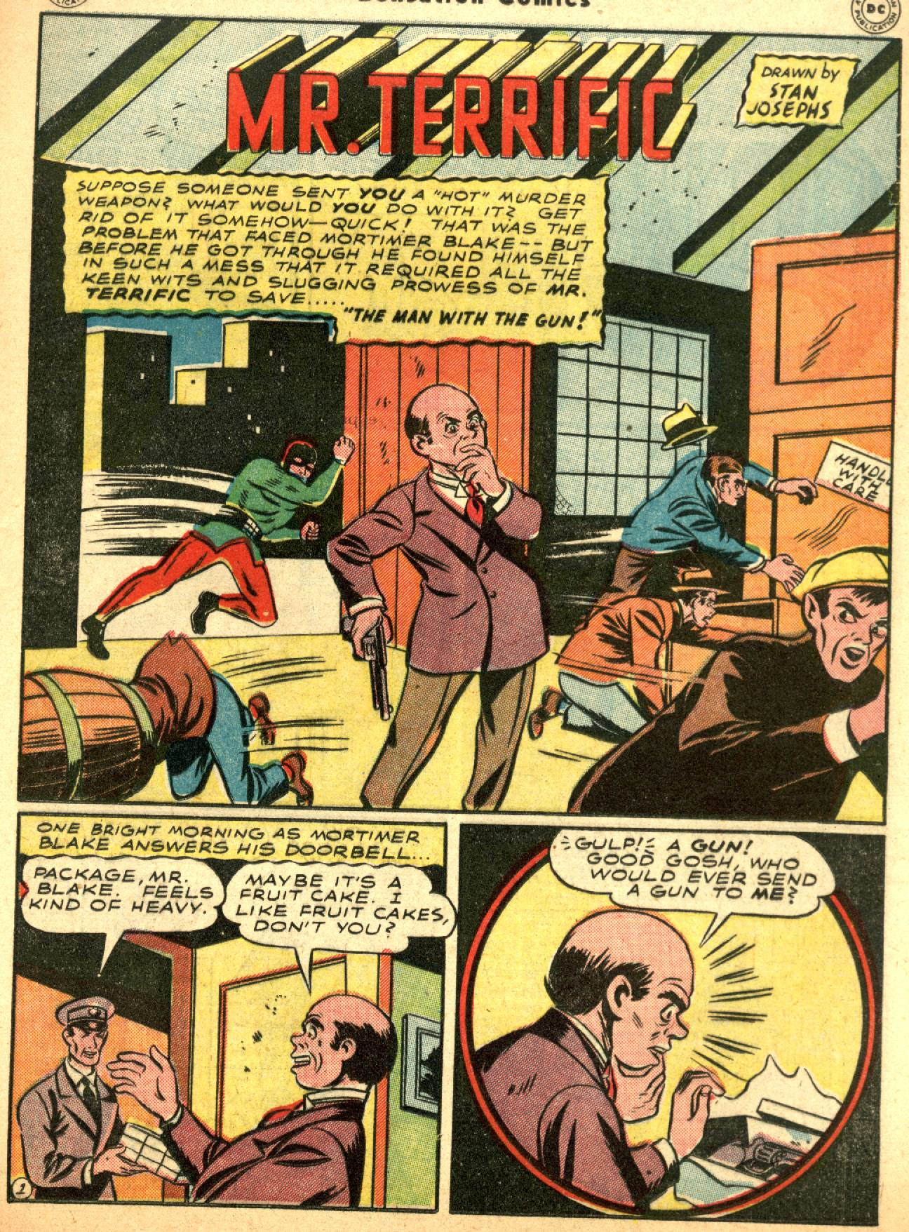 Read online Sensation (Mystery) Comics comic -  Issue #53 - 35