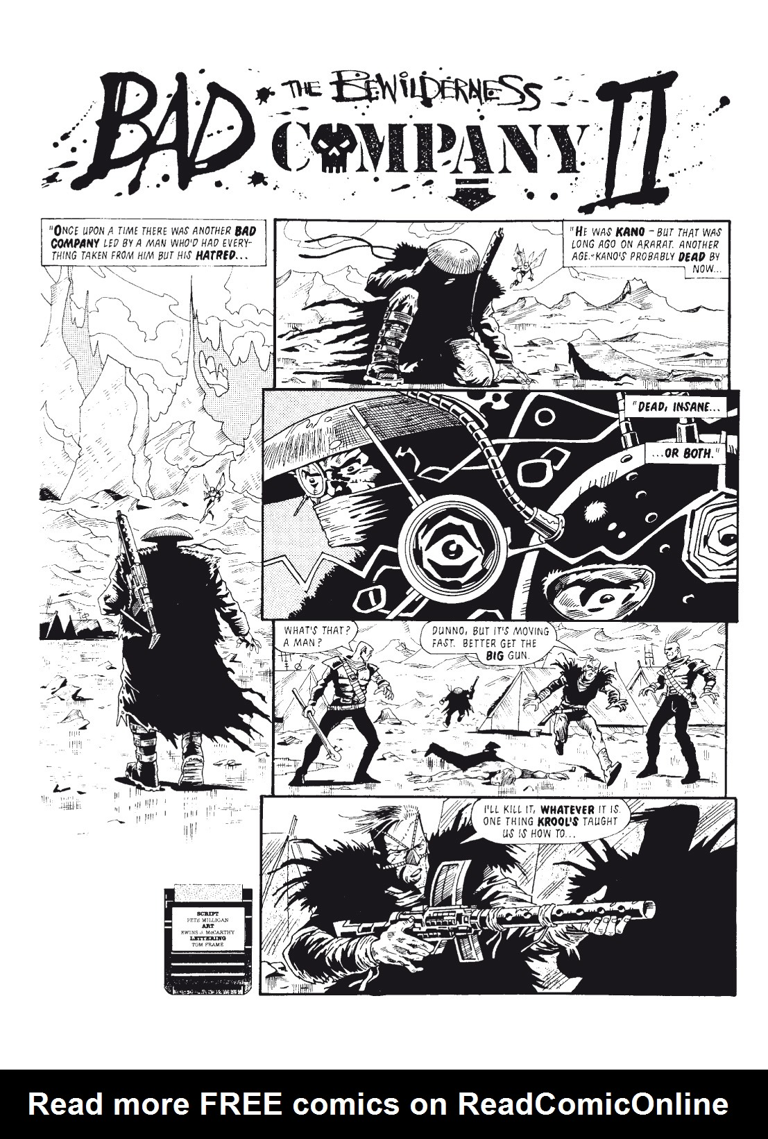 Read online The Complete Bad Company comic -  Issue # TPB - 138