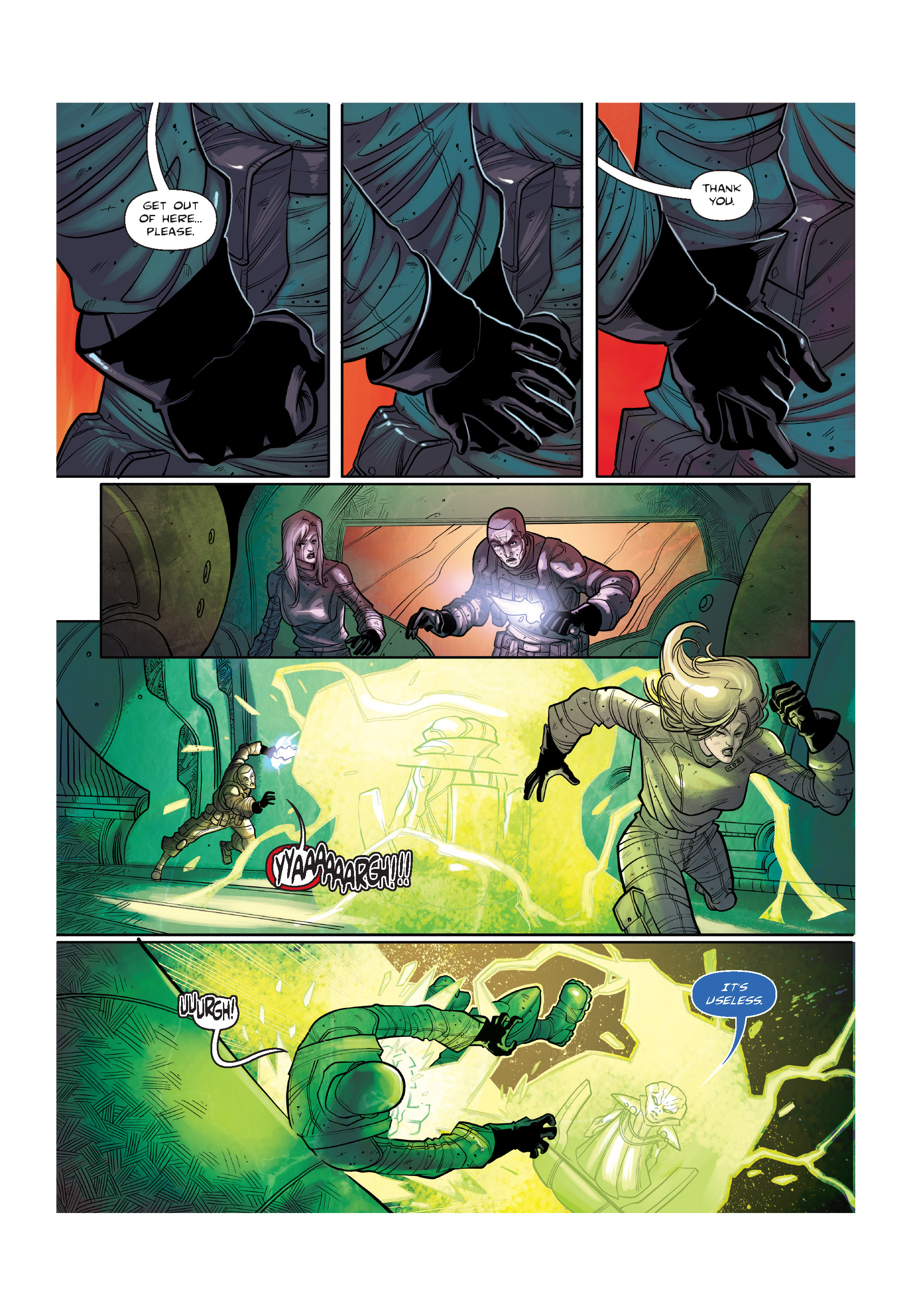 Read online The Shadow of a Terrible Thing comic -  Issue # TPB - 131
