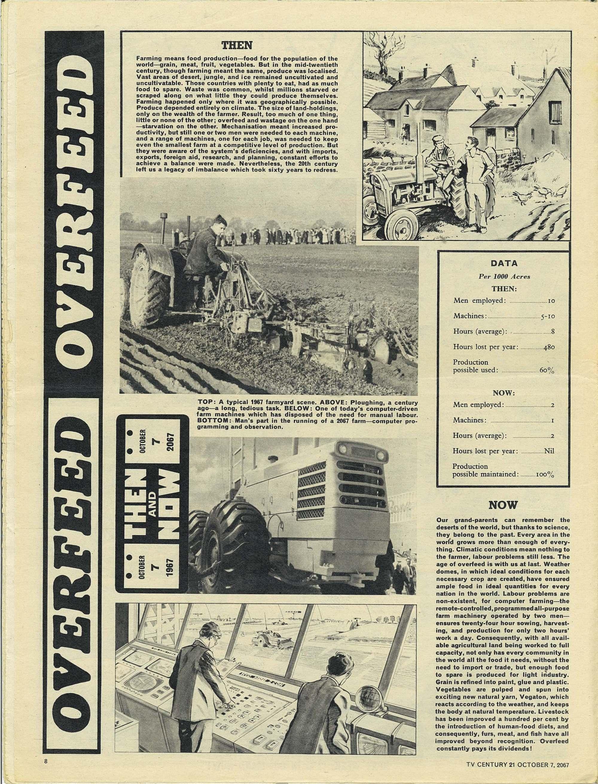 Read online TV Century 21 (TV 21) comic -  Issue #142 - 8