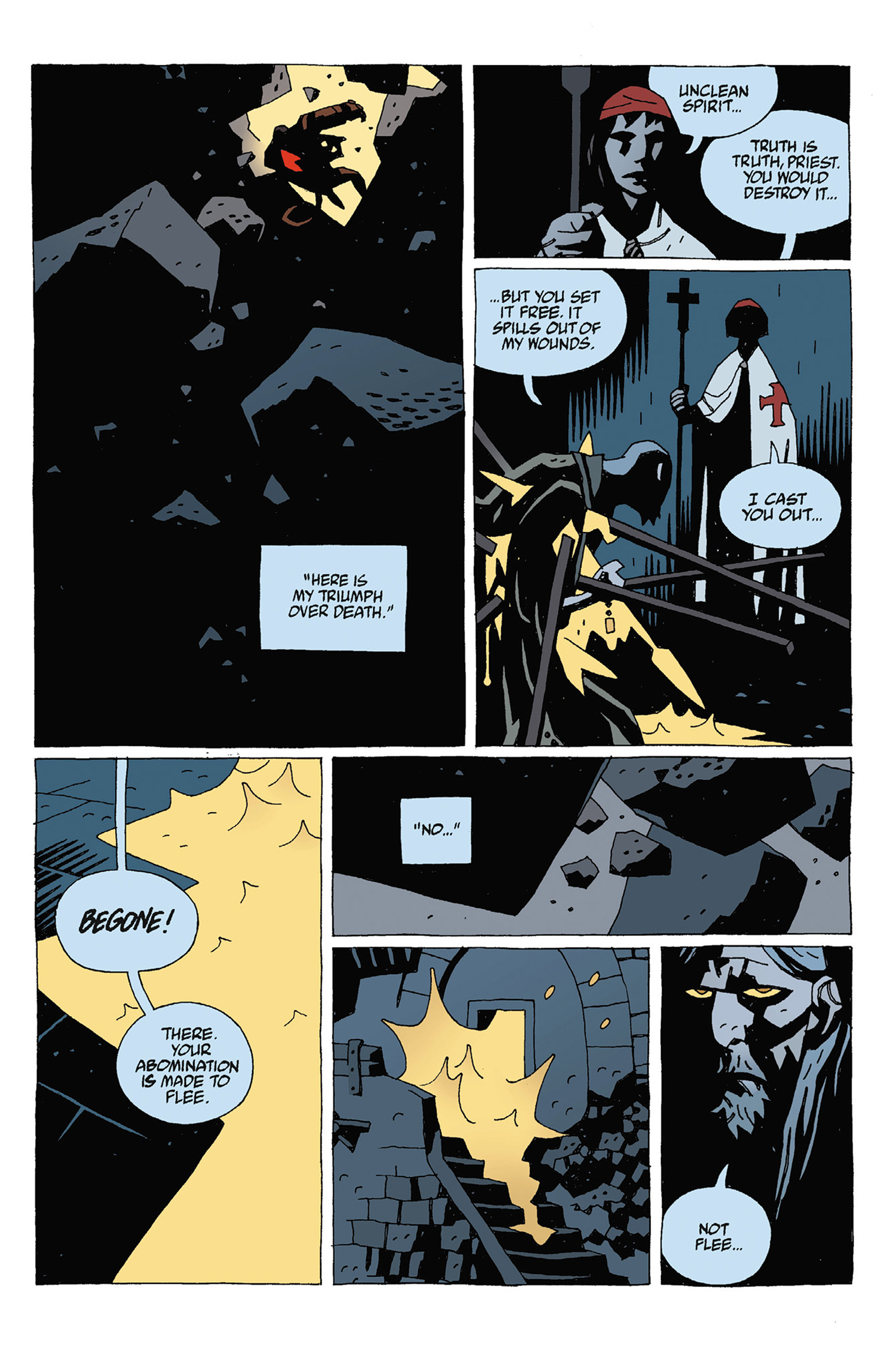 Read online Hellboy: Strange Places comic -  Issue # TPB - 91