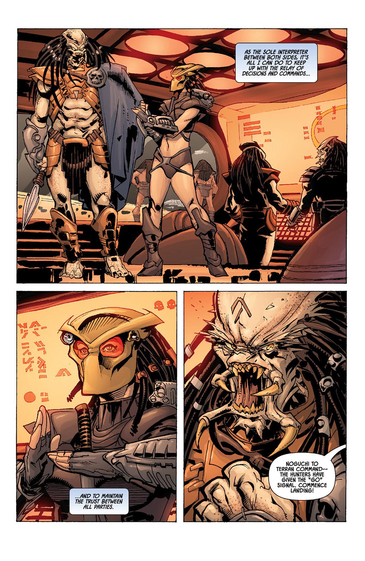 Read online Aliens vs. Predator: Three World War comic -  Issue #4 - 5