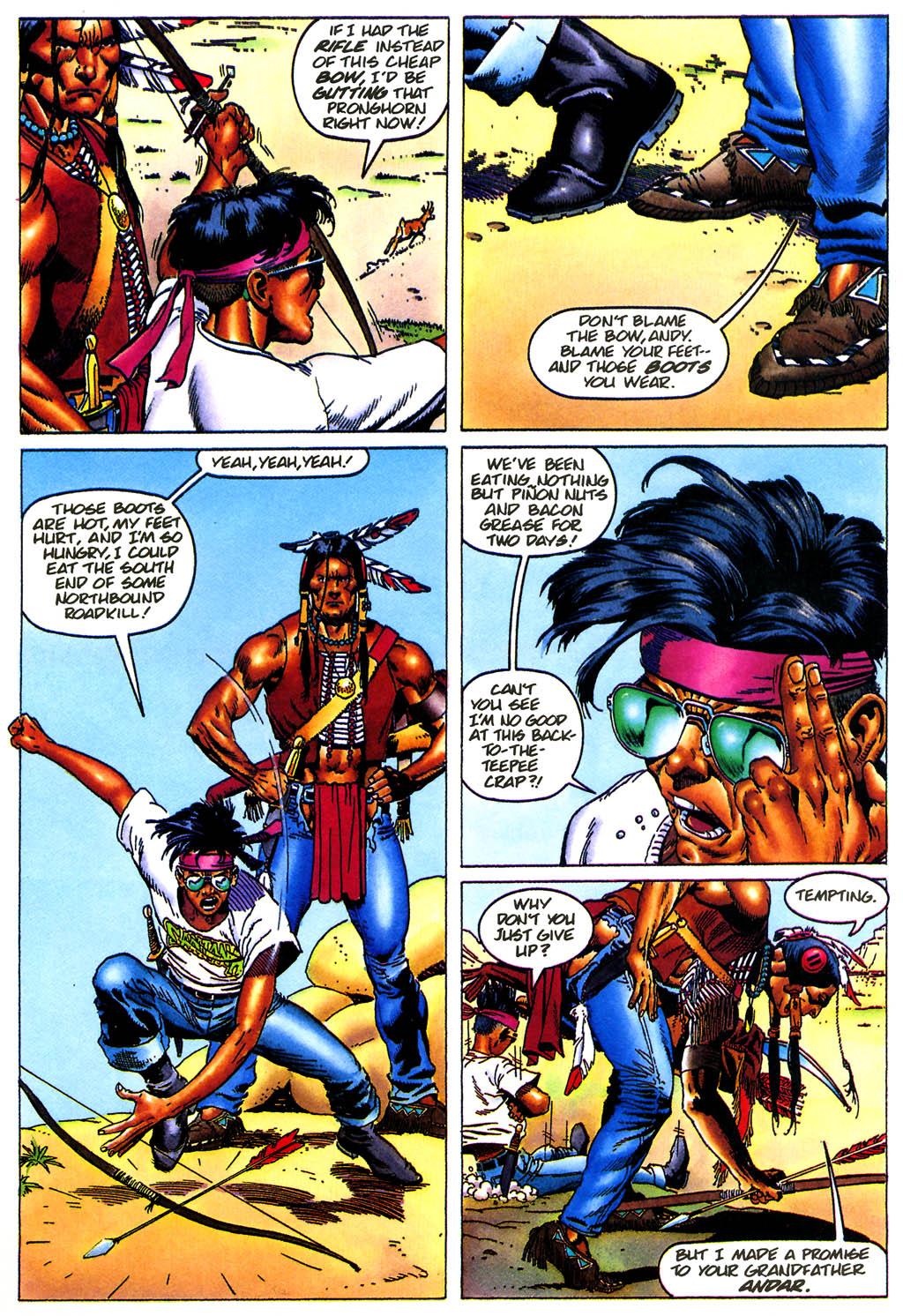 Read online Turok, Dinosaur Hunter (1993) comic -  Issue #0 - 6