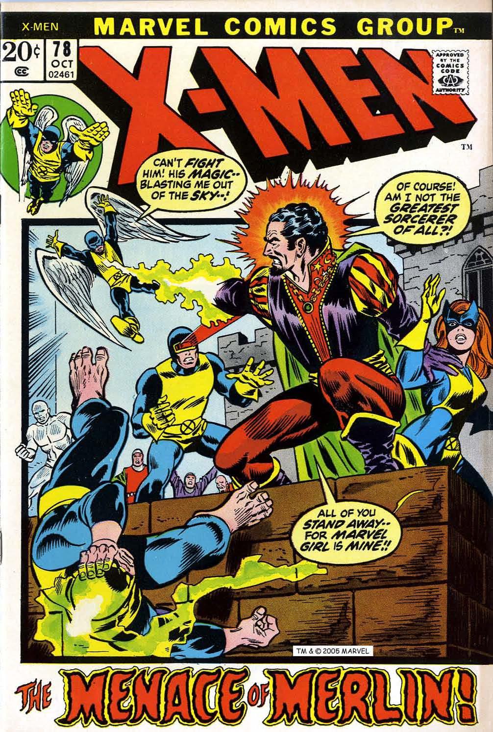 Uncanny X-Men (1963) 78 Page 1