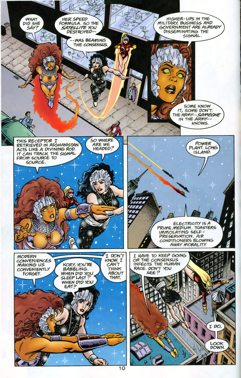 Read online The Titans (1999) comic -  Issue #49 - 11